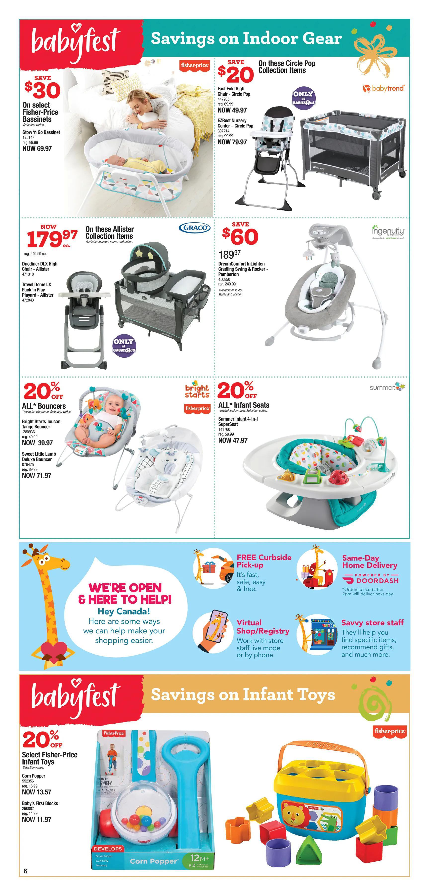 """Babies""""R""""Us - 2 Weeks of Savings - Page 6"""