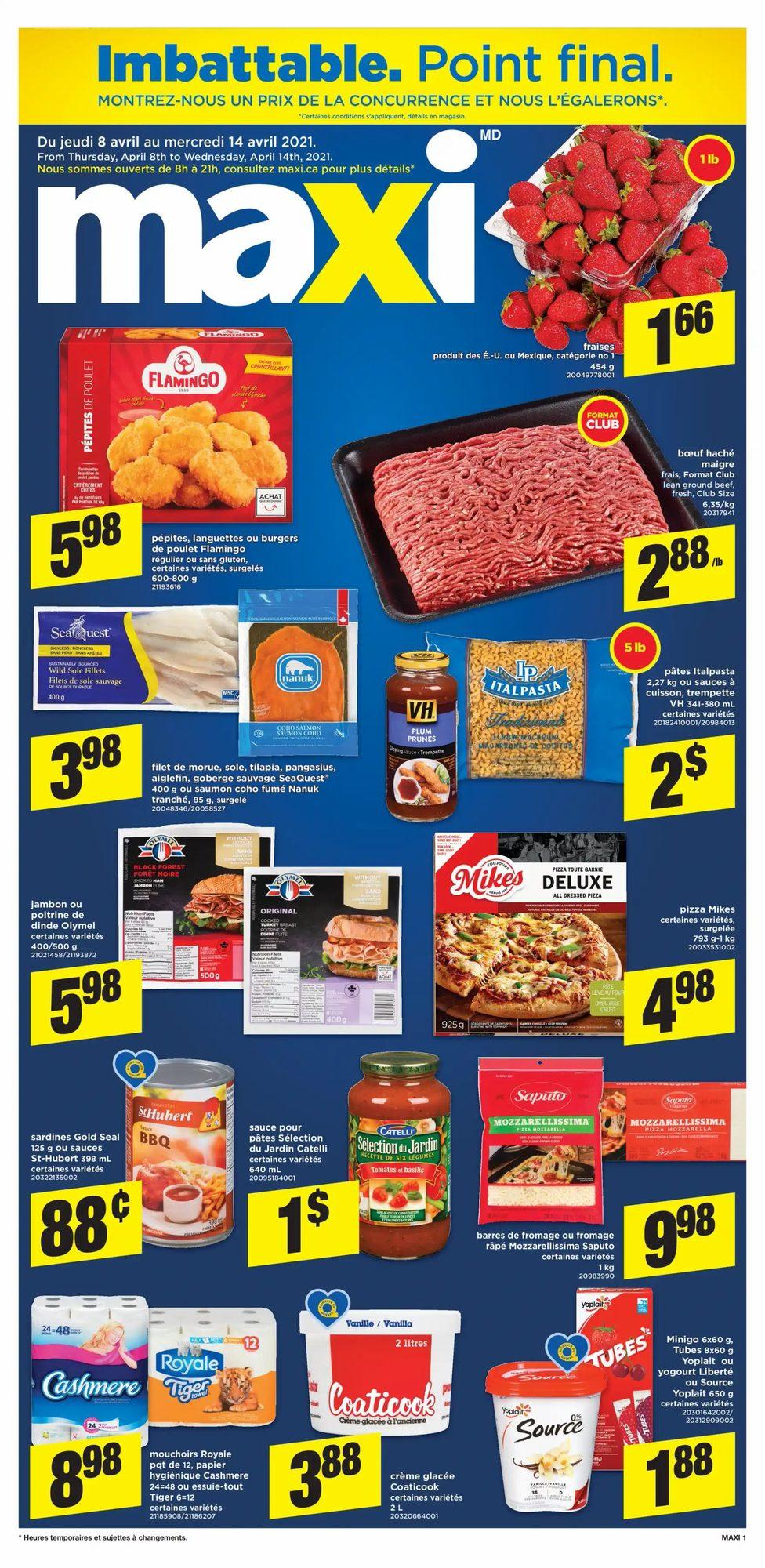 Maxi - Weekly Flyer Specials