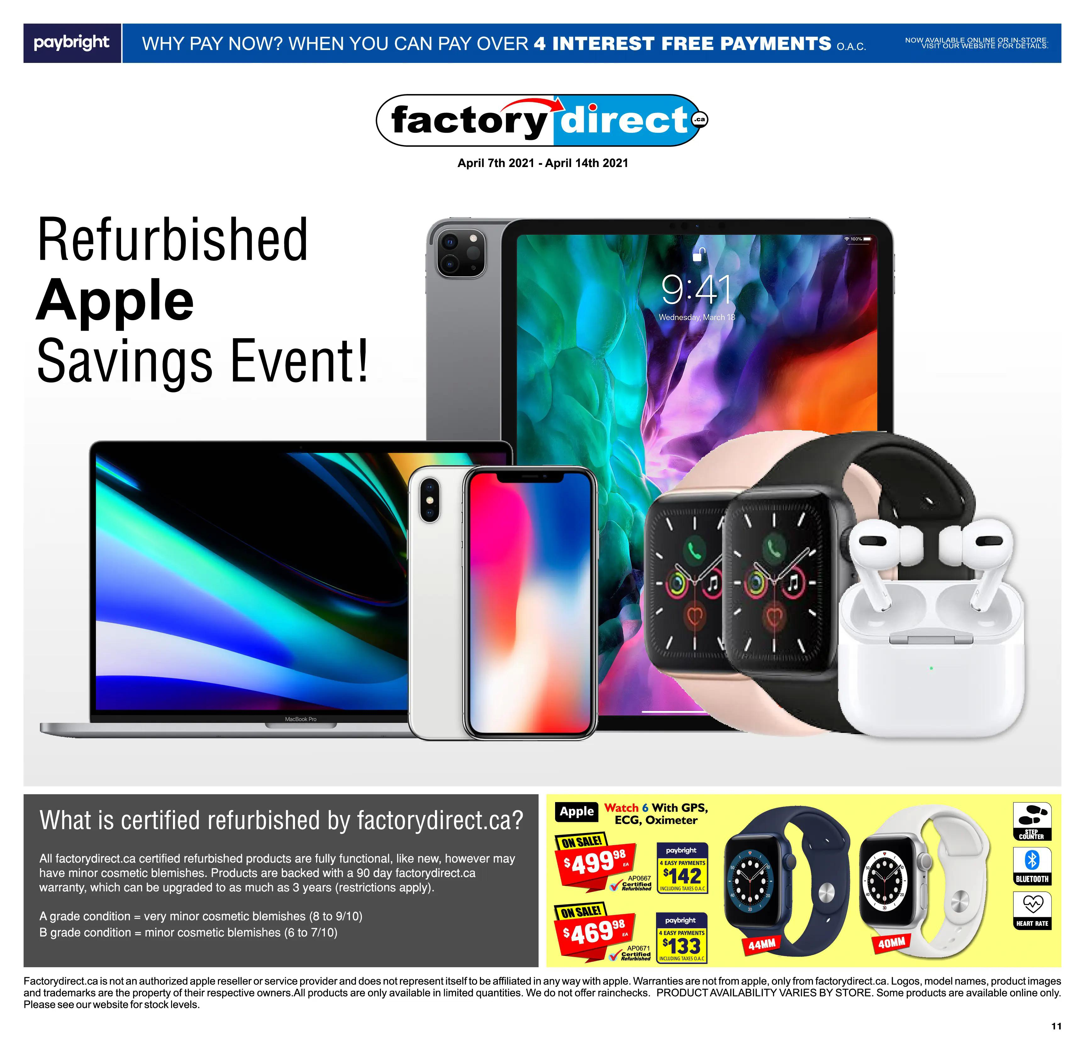 FactoryDirect Flyer from april 7 to 14 2021 - Page 11