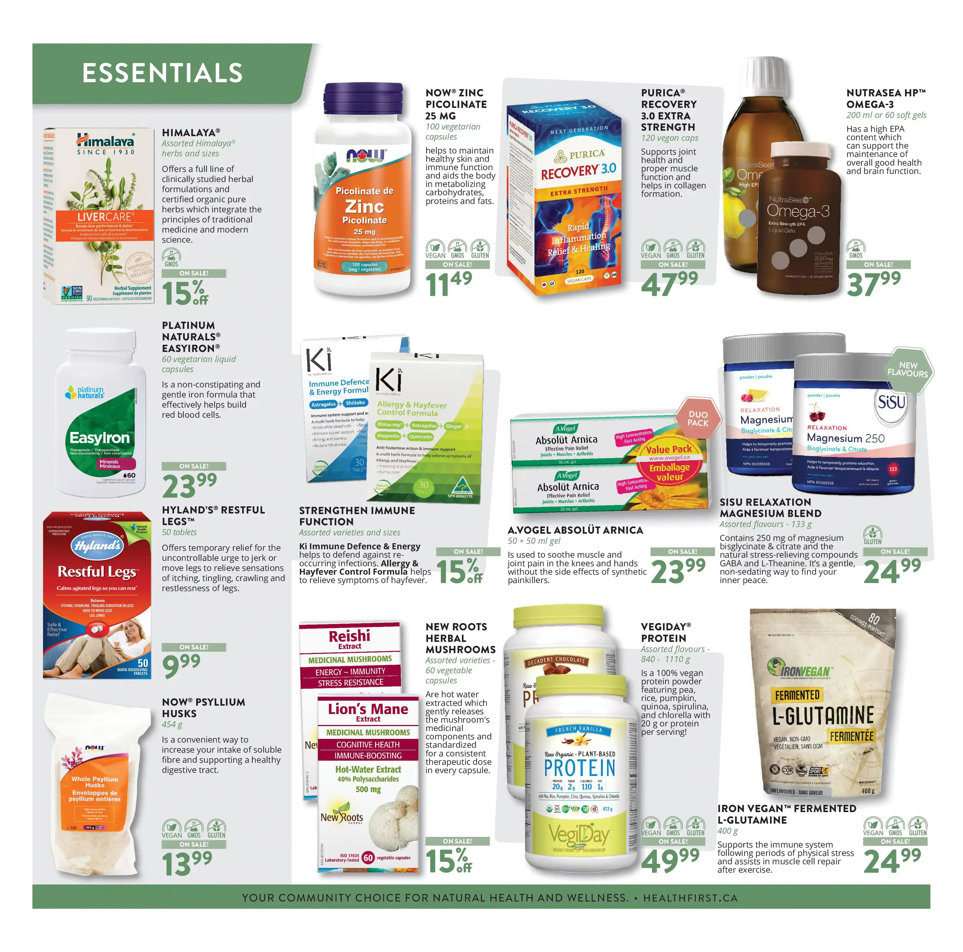 Vita Health Fresh Market Flyer from april 2 to 18 2021 - Page 2