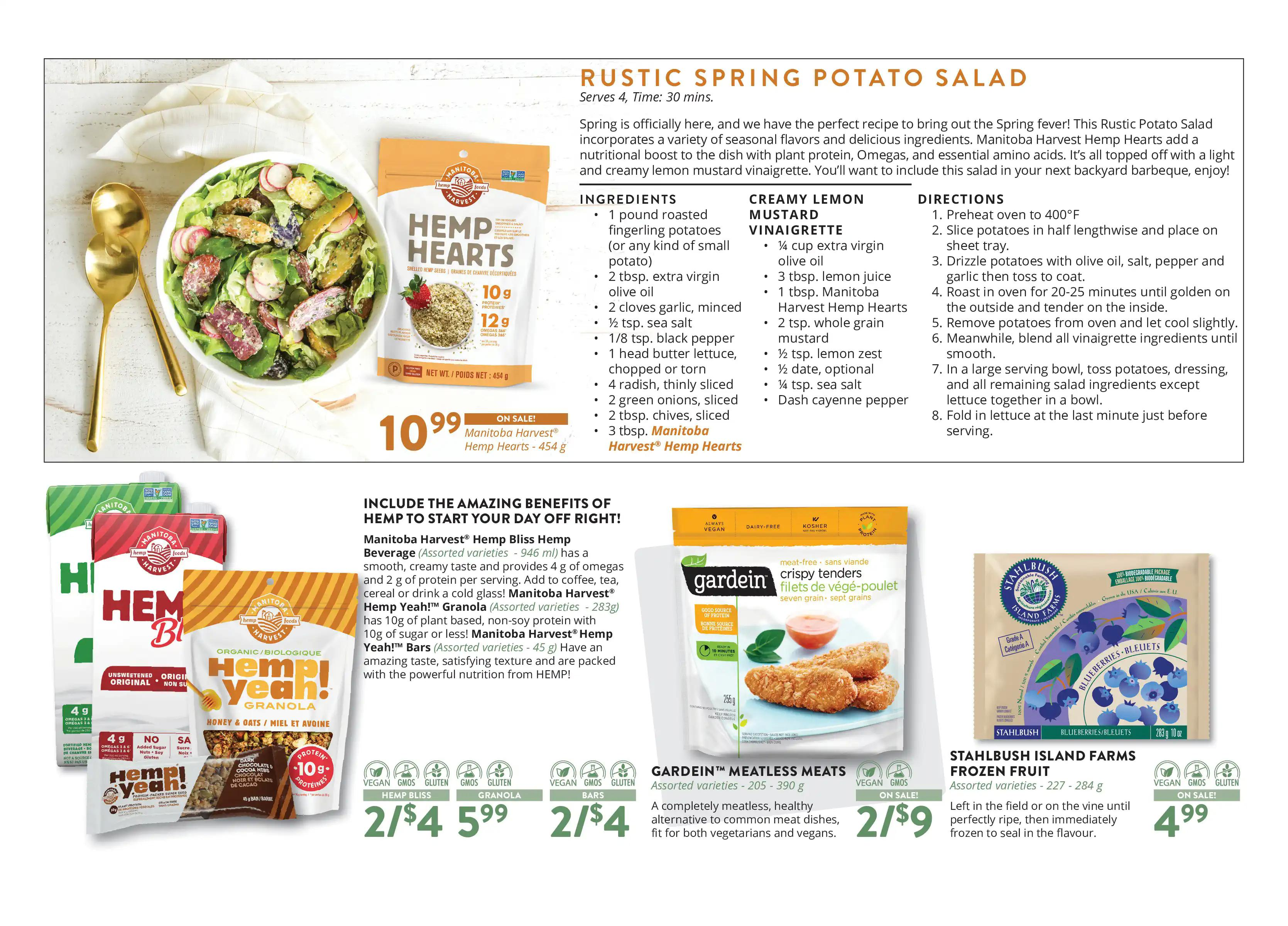 Vita Health Fresh Market Flyer from april 2 to 18 2021 - Page 4