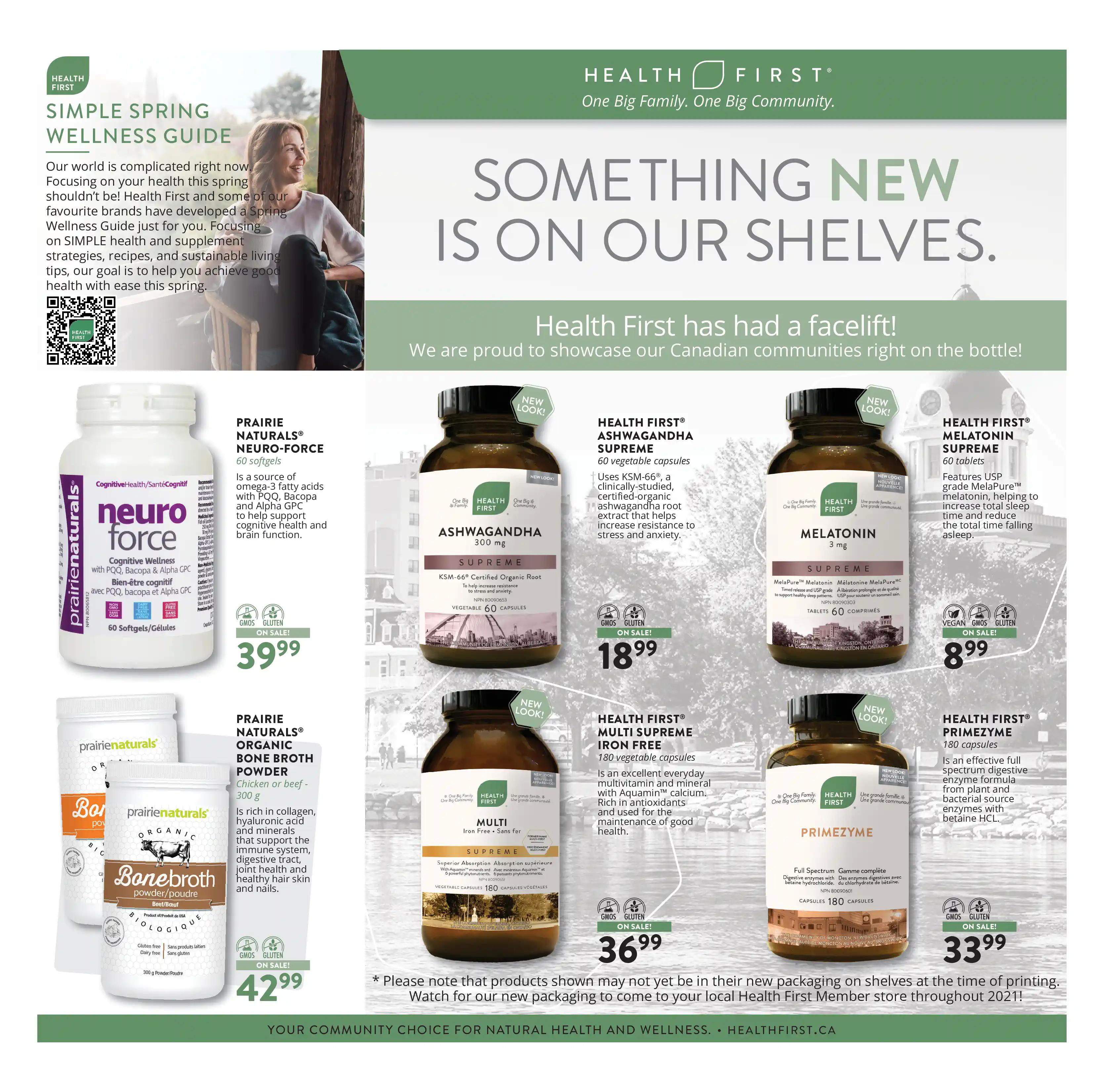 Vita Health Fresh Market Flyer from april 2 to 18 2021 - Page 7