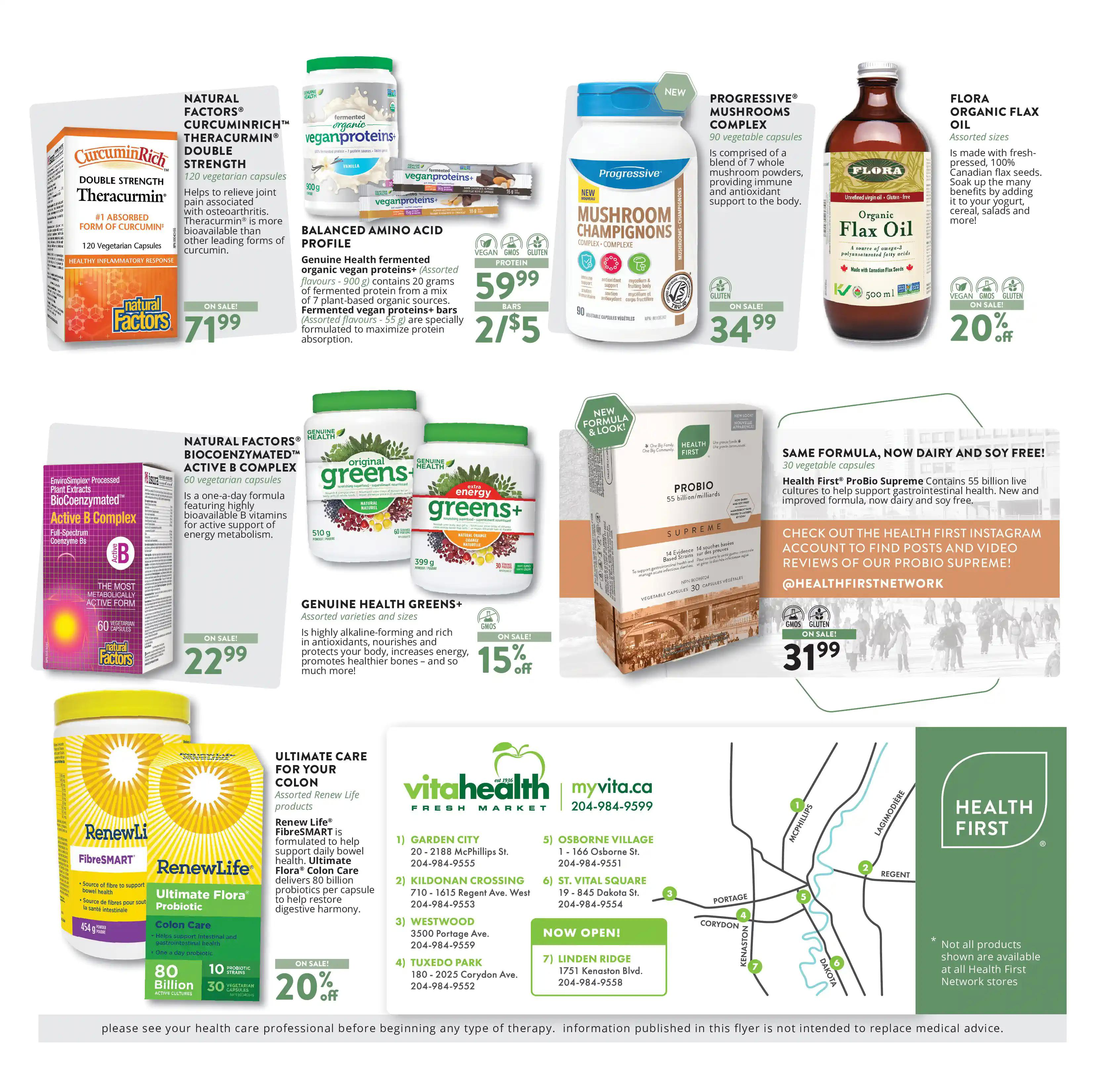 Vita Health Fresh Market Flyer from april 2 to 18 2021 - Page 8