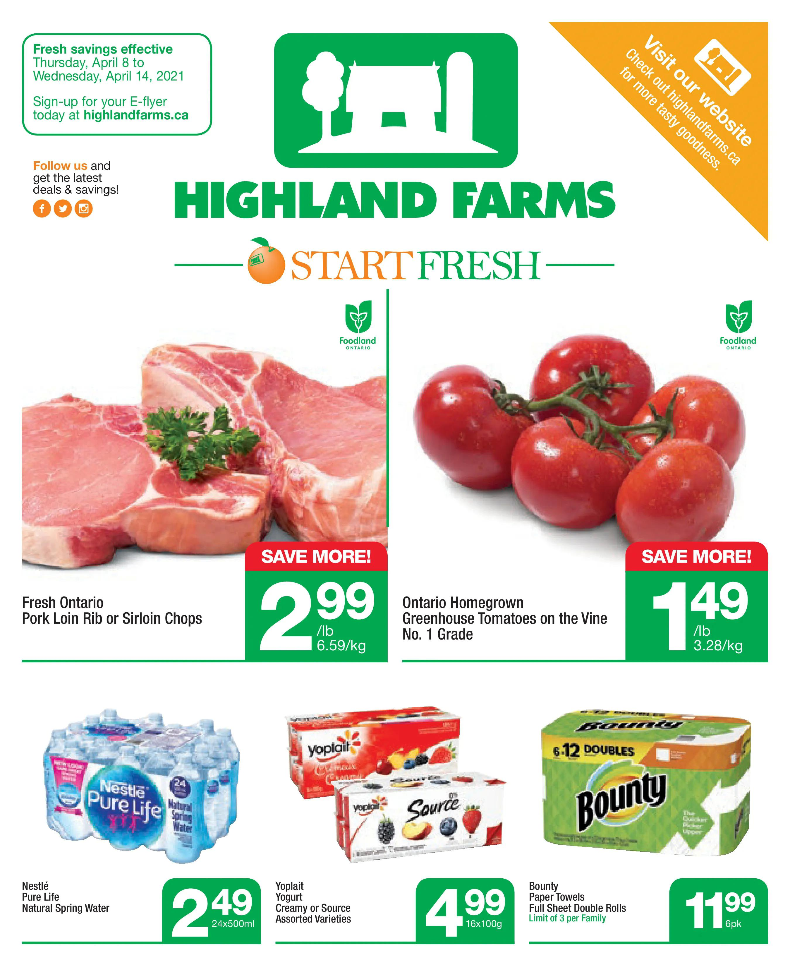 Highland Farms - Weekly Flyer Specials