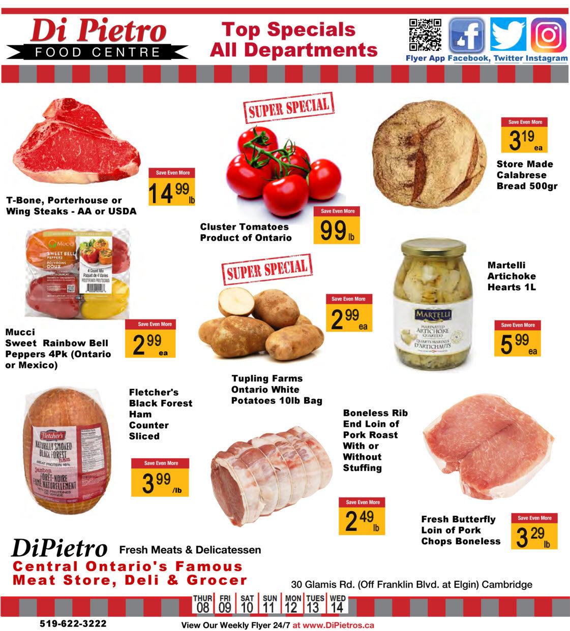 DiPietro - Weekly Flyer Specials