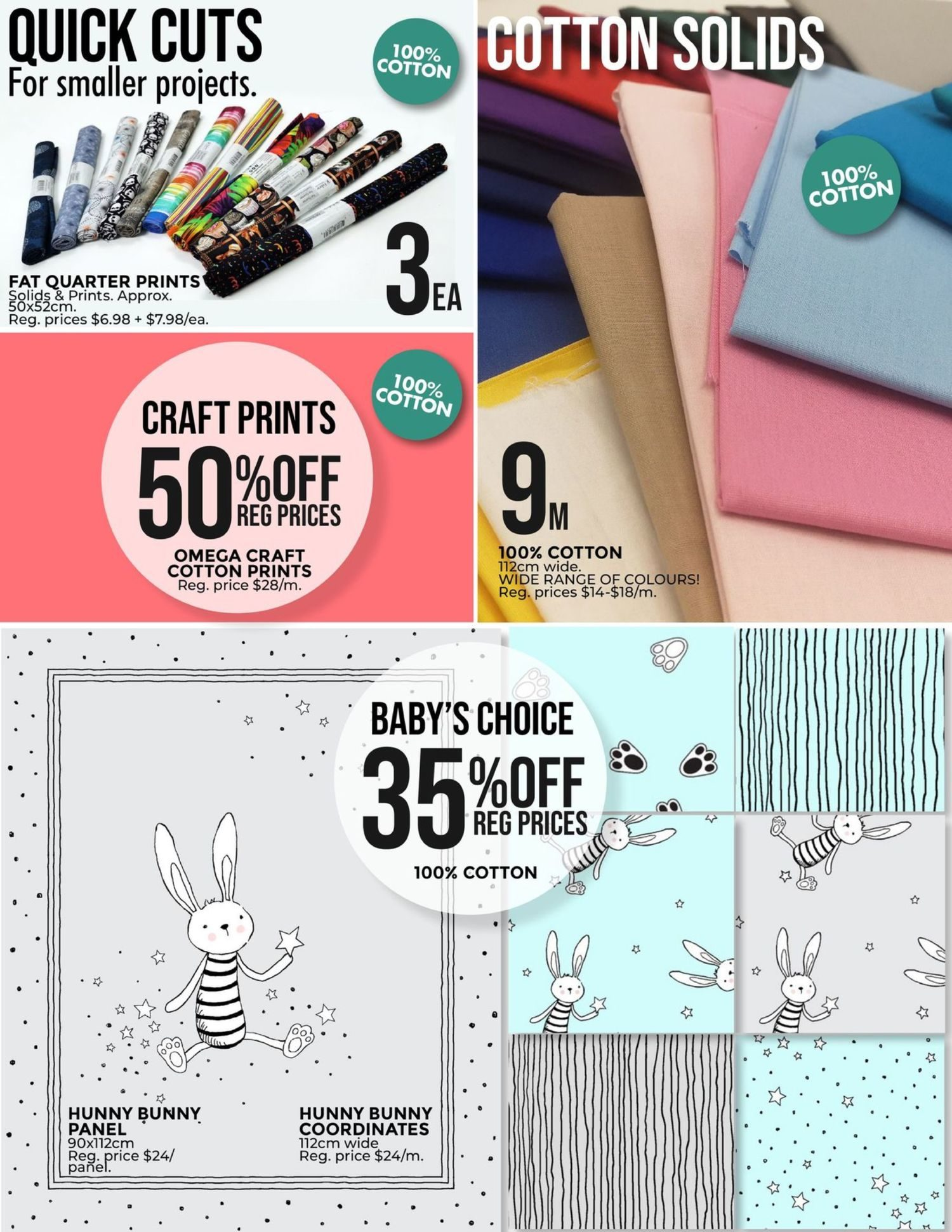 Fabricland - Monthly Offers - 53rd Birthday Sale - Page 6
