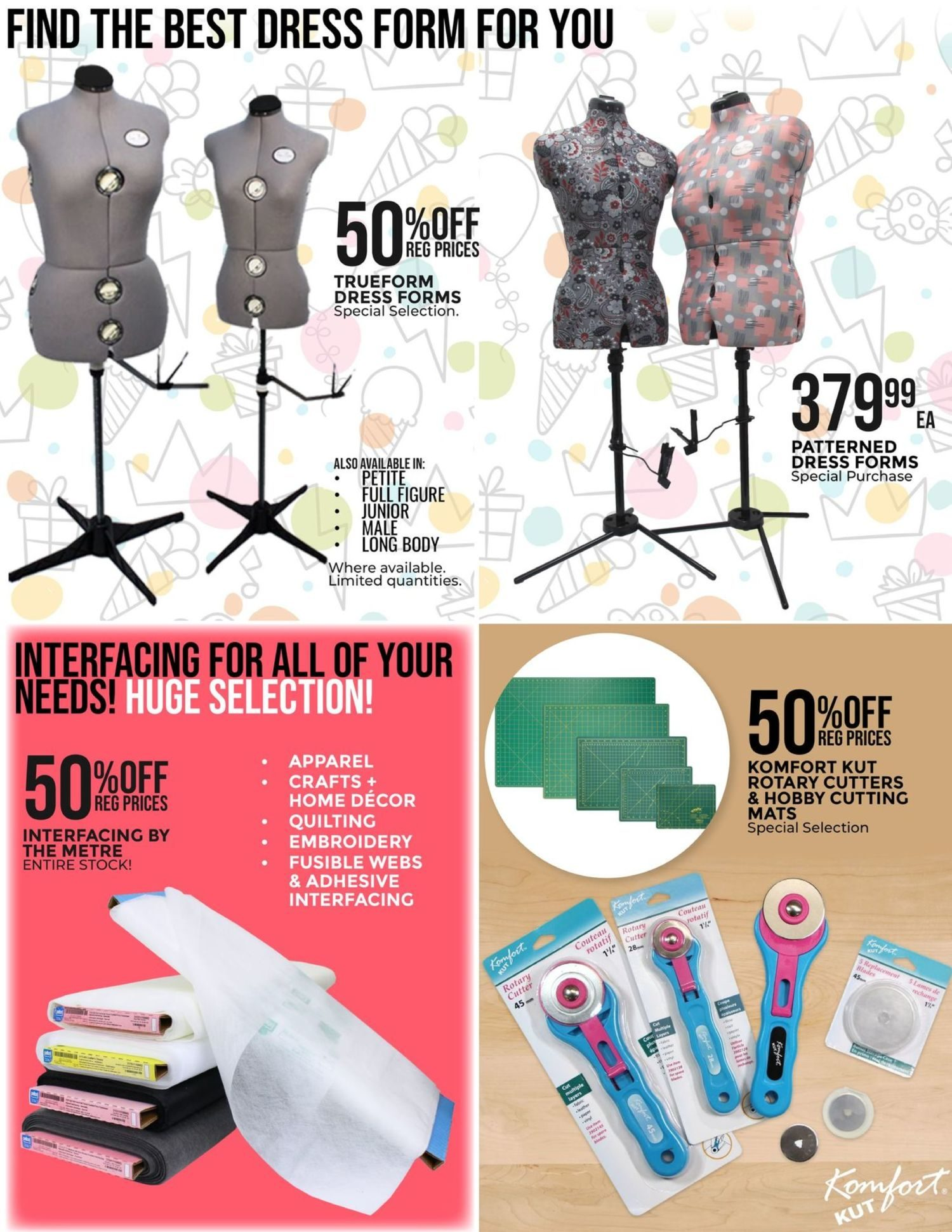 Fabricland - Monthly Offers - 53rd Birthday Sale - Page 19