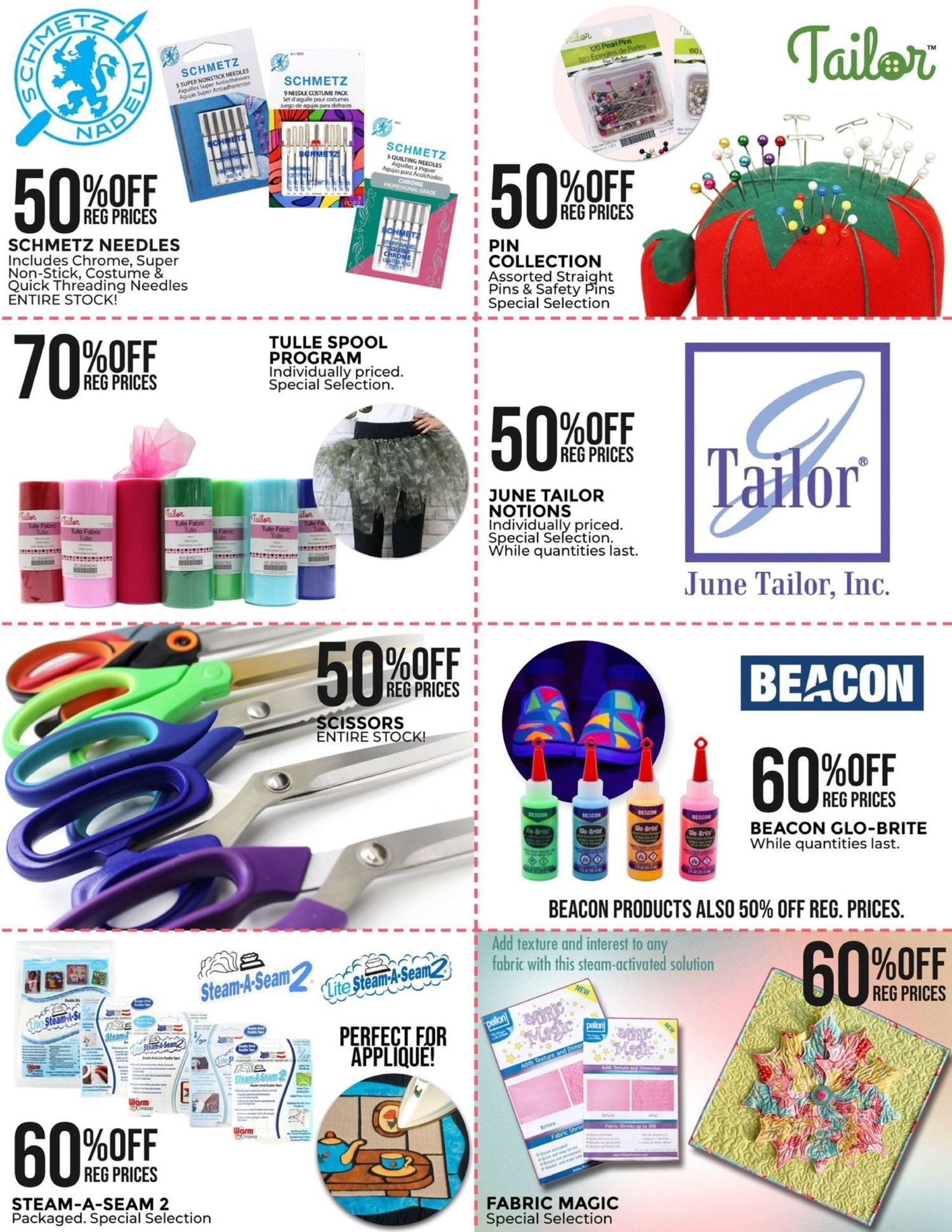 Fabricland - Monthly Offers - 53rd Birthday Sale - Page 21
