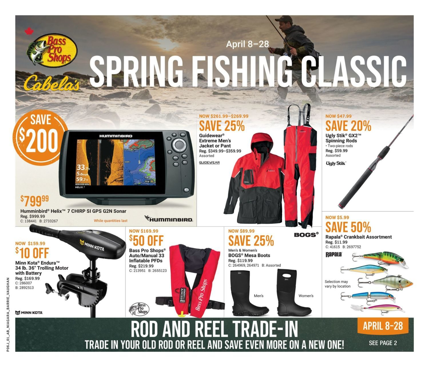 Cabela's - Spring Fishing Classic
