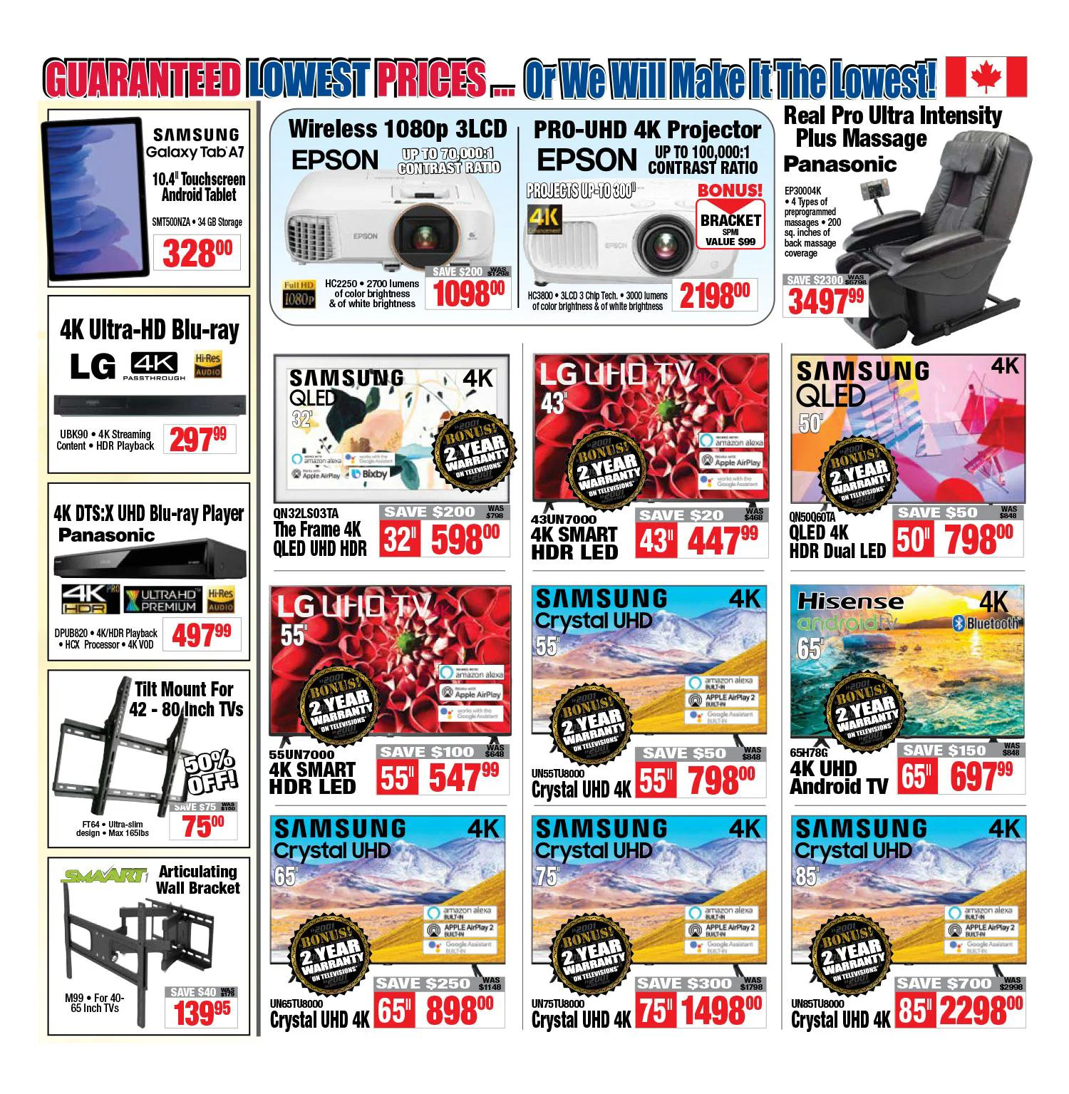 2001 Audio Video - Weekly Flyer Specials - Page 2