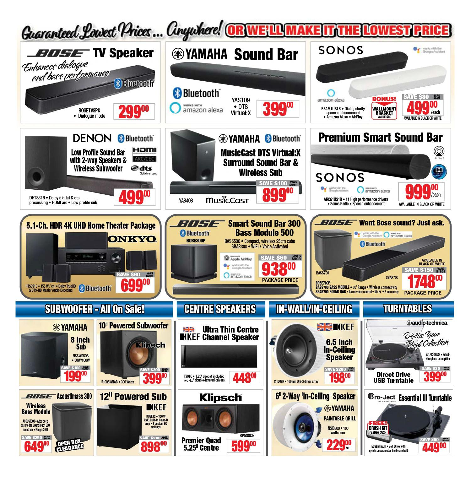 2001 Audio Video - Weekly Flyer Specials - Page 5
