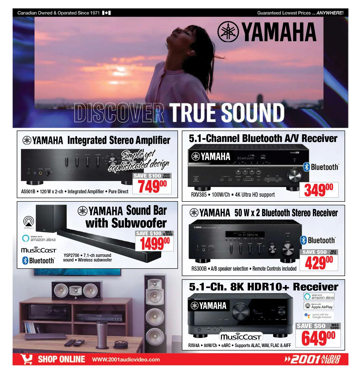 2001 Audio Video - Weekly Flyer Specials - Page 10