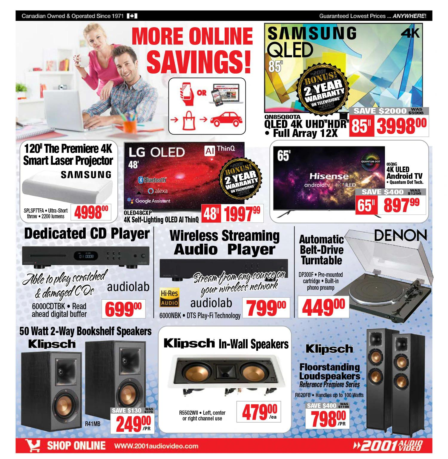 2001 Audio Video - Weekly Flyer Specials - Page 12