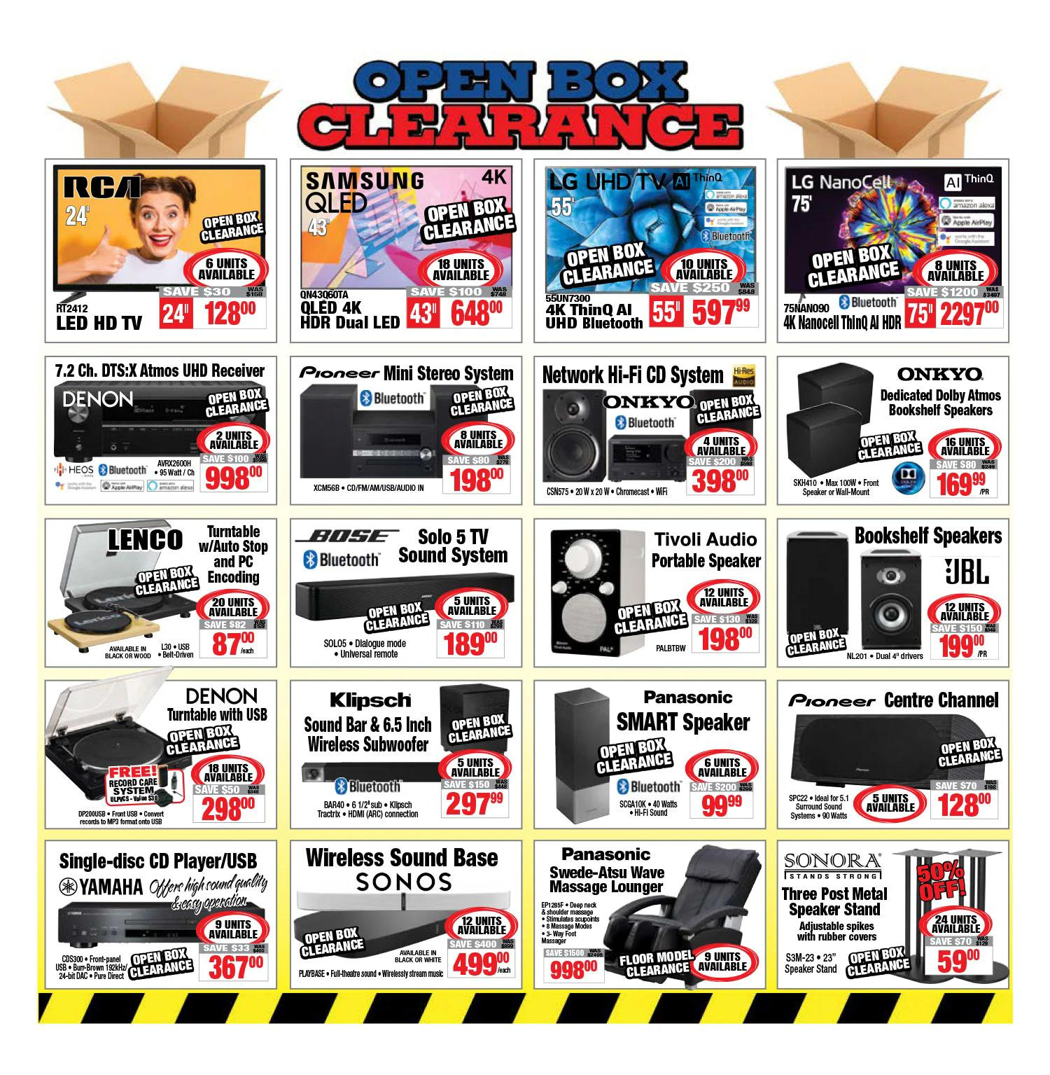 2001 Audio Video - Weekly Flyer Specials - Page 13