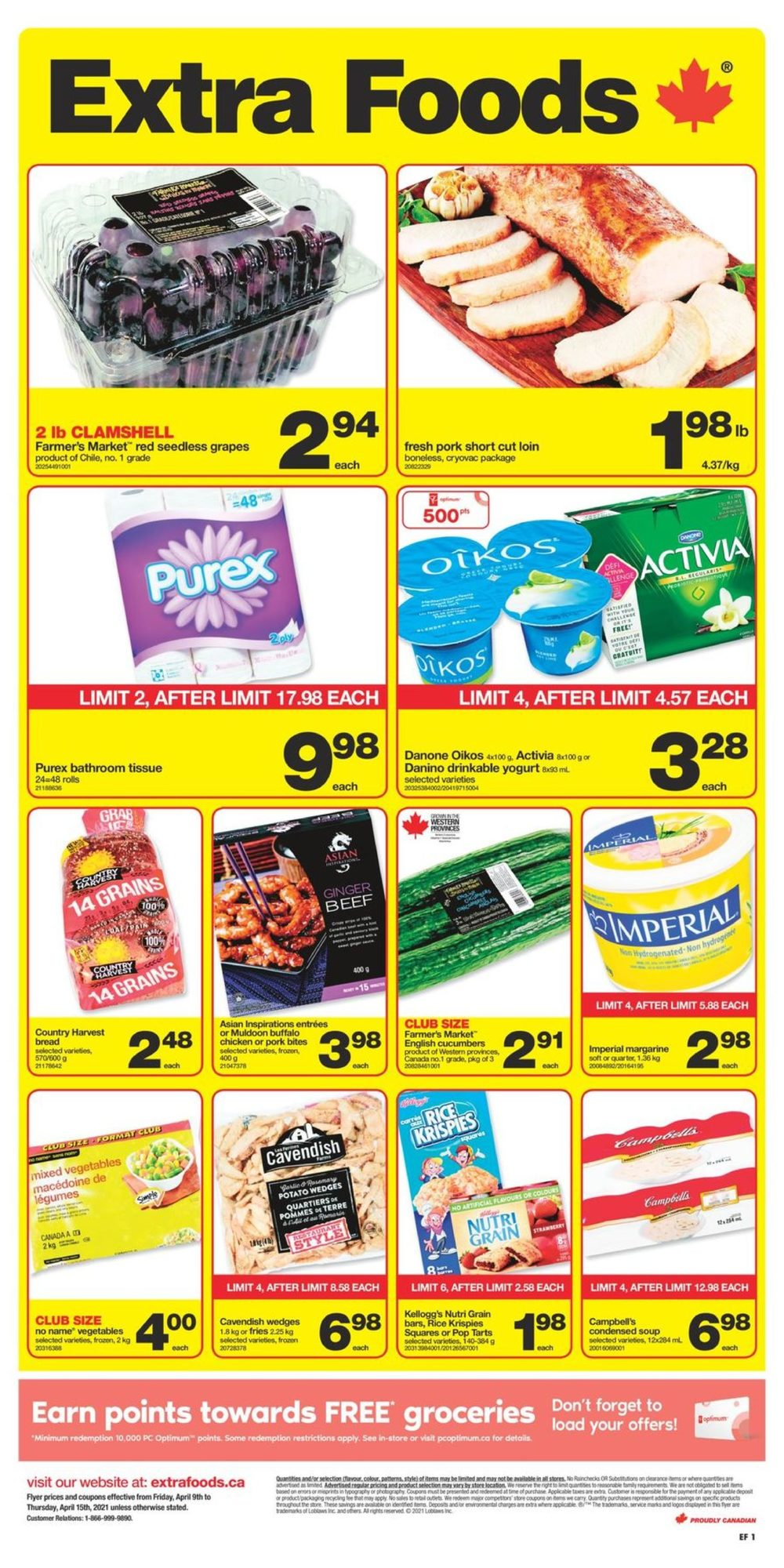 Extra Foods - Weekly Flyer Specials