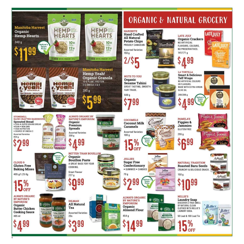 Nature's Emporium - Monthly Specials - Page 4