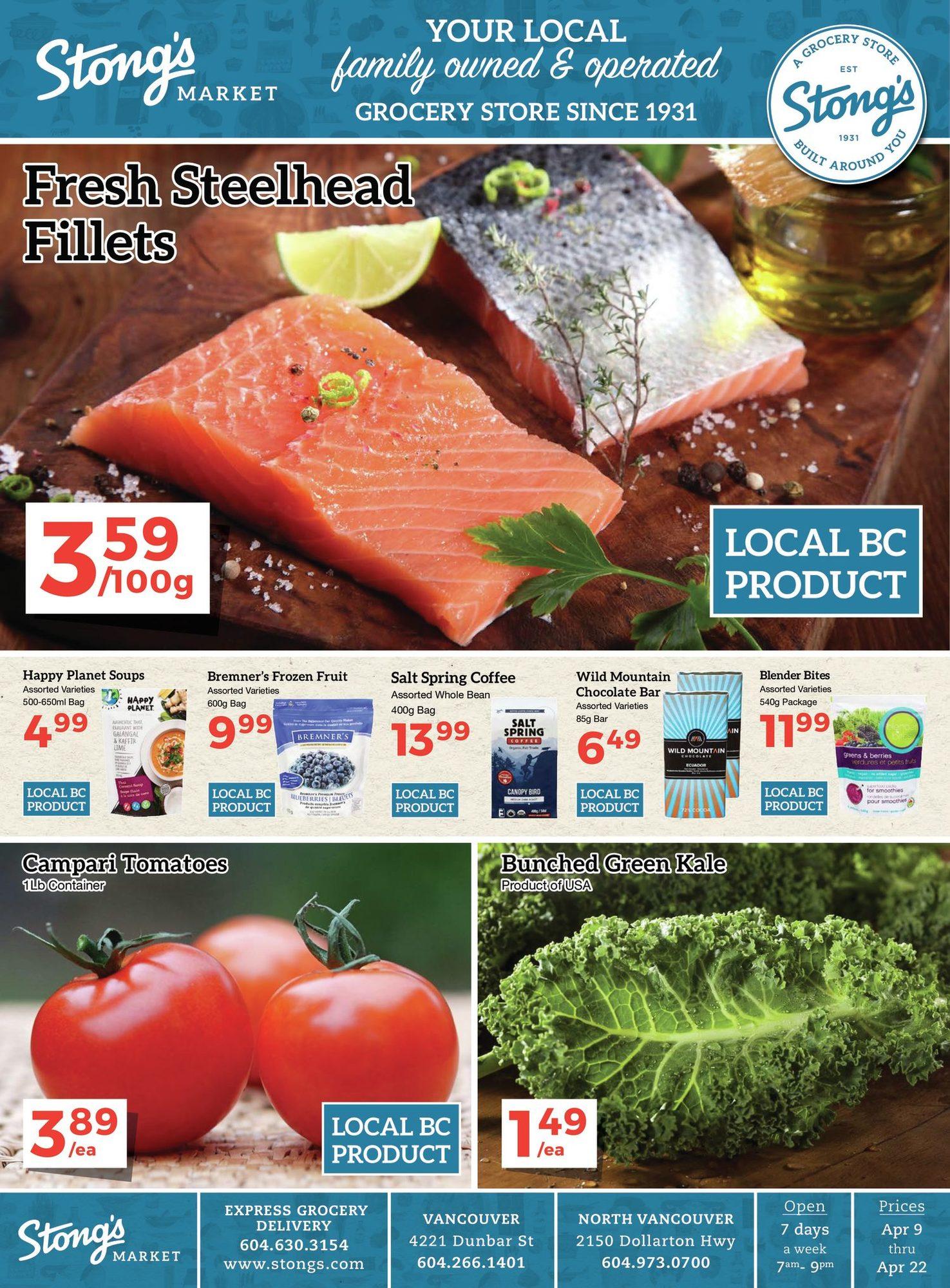 Stong's Market - 2 Weeks of Savings