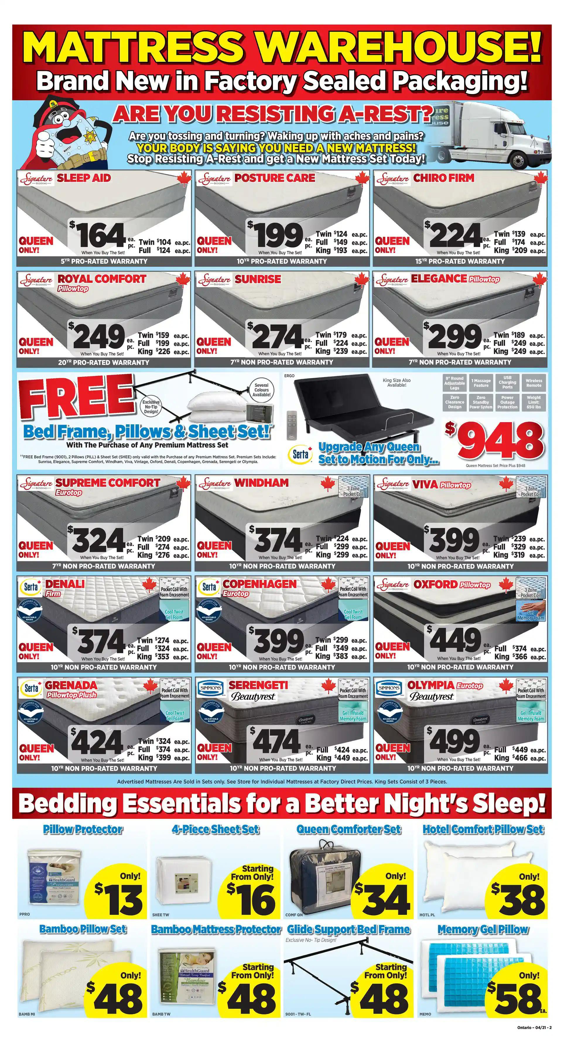 Surplus Furniture & Mattress Warehouse - 3 Weeks of Savings - Page 2