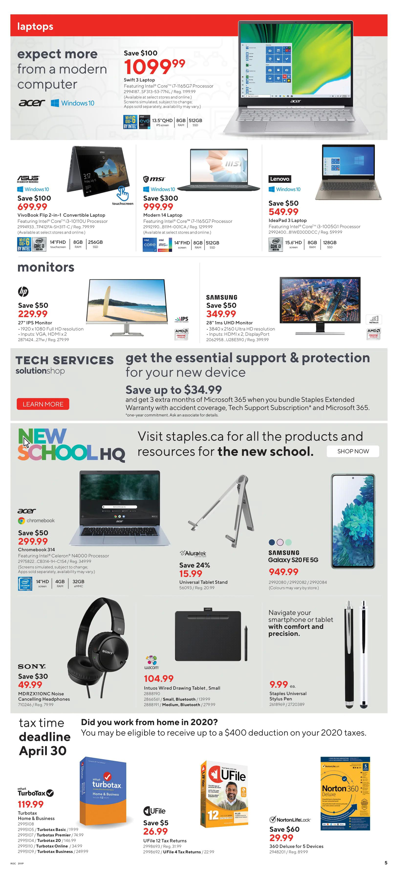Staples - Weekly Flyer Specials - Page 6