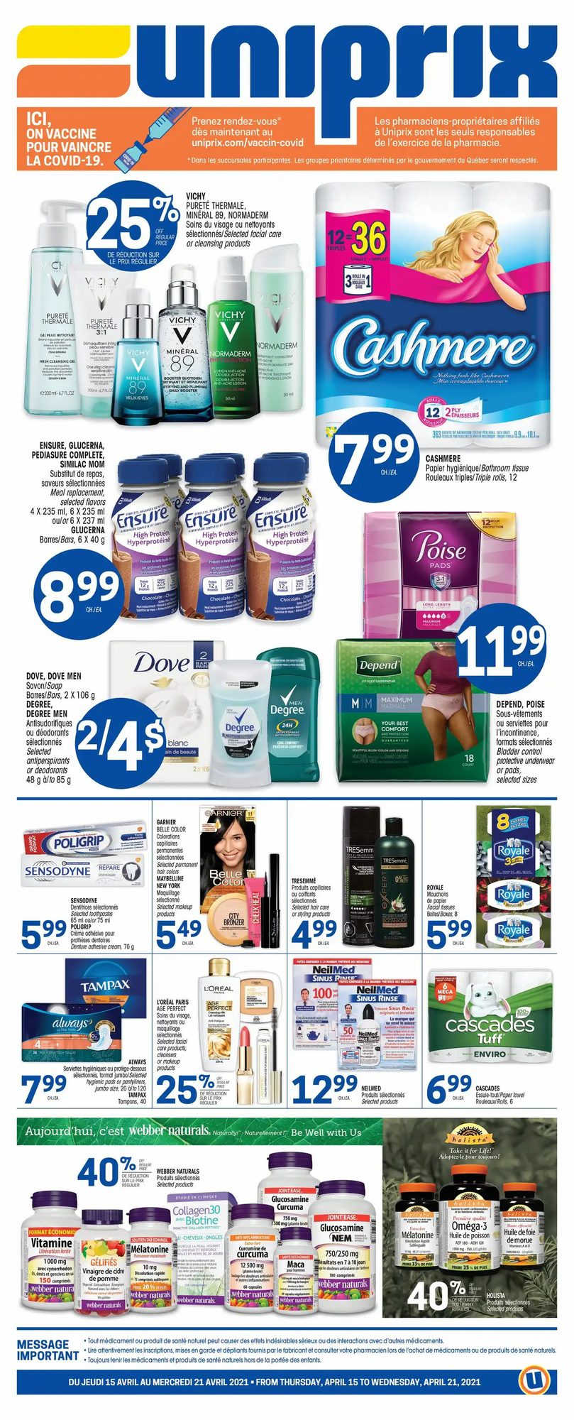 Uniprix - Weekly Flyer Specials