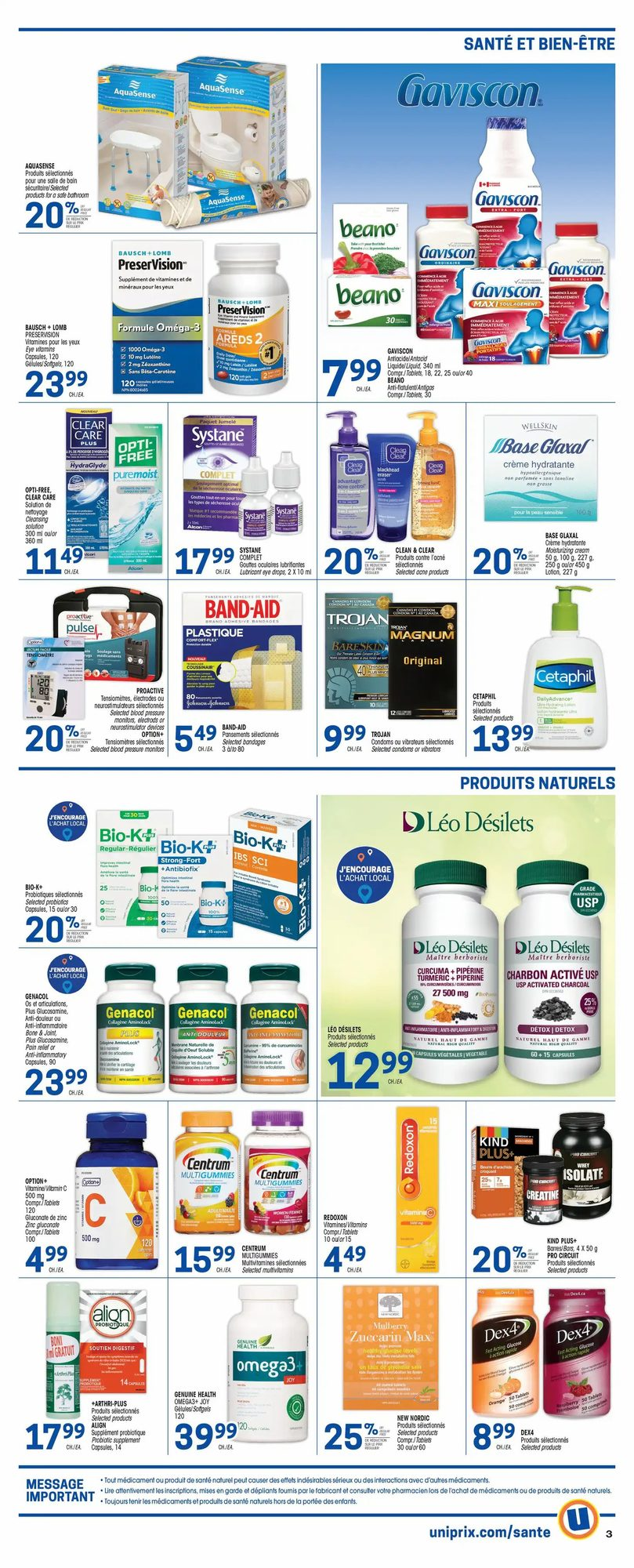 Uniprix - Weekly Flyer Specials - Page 5