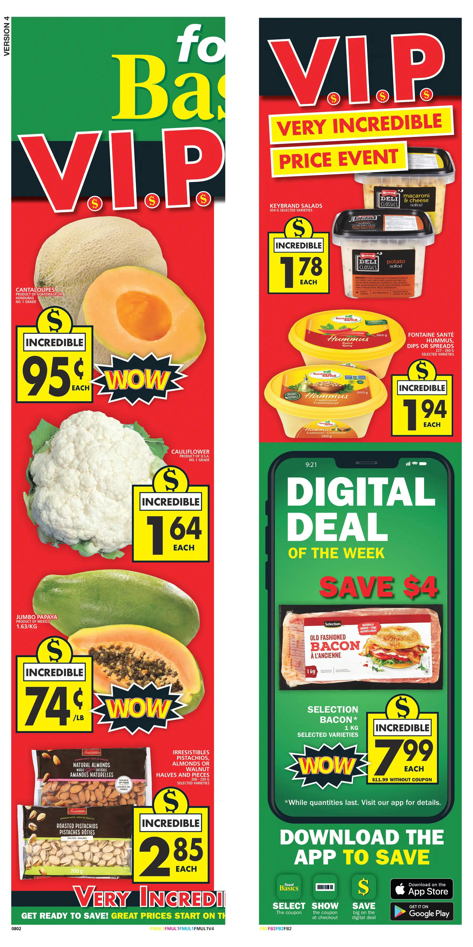 Food Basics - Weekly Flyer Specials - Page 1