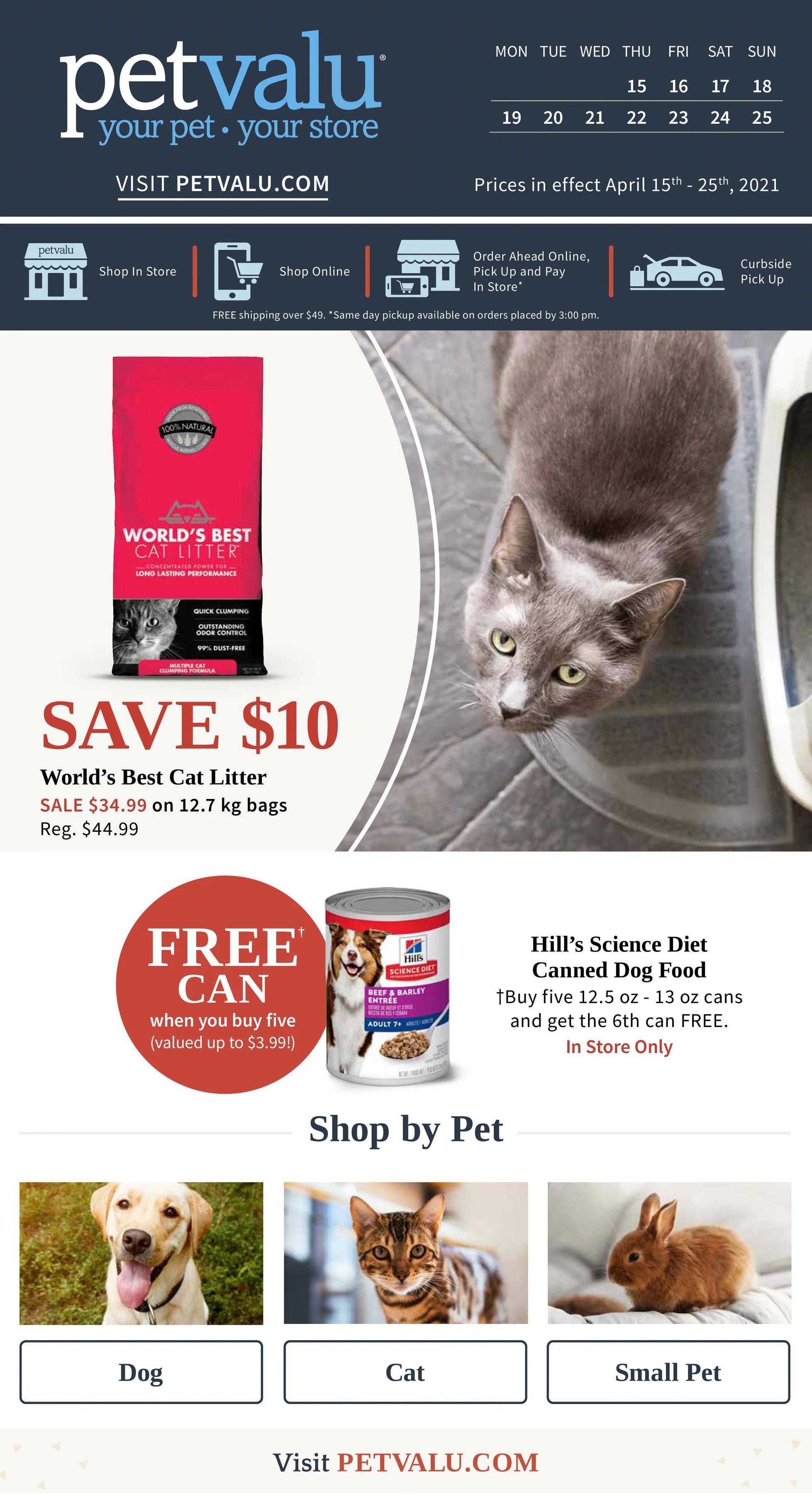 Pet Valu - Weekly Flyer Specials