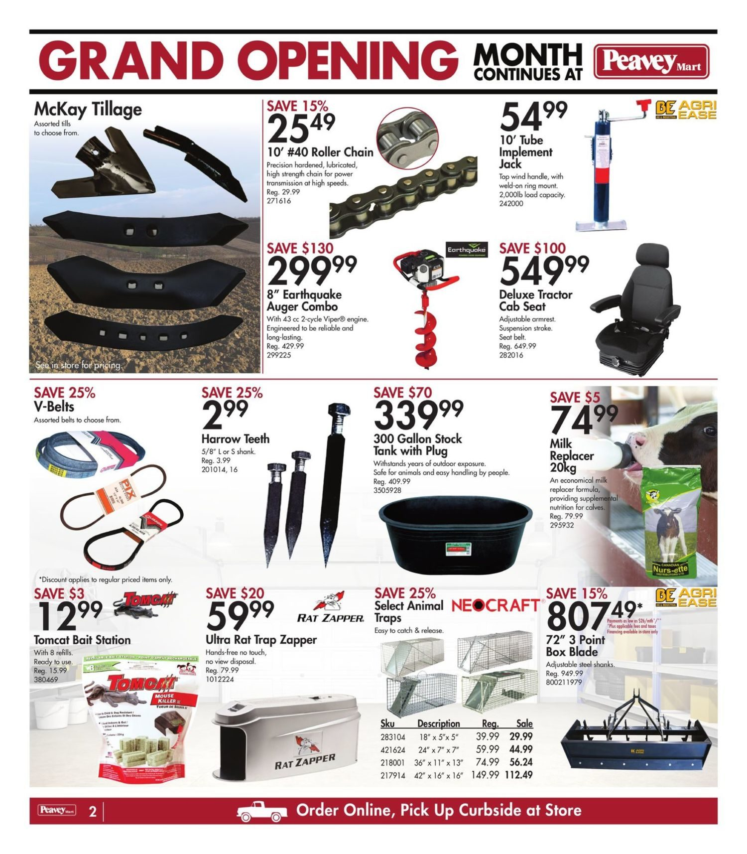Peavey Mart - Weekly Flyer Specials - National Grand Opening Celebration - Page 3