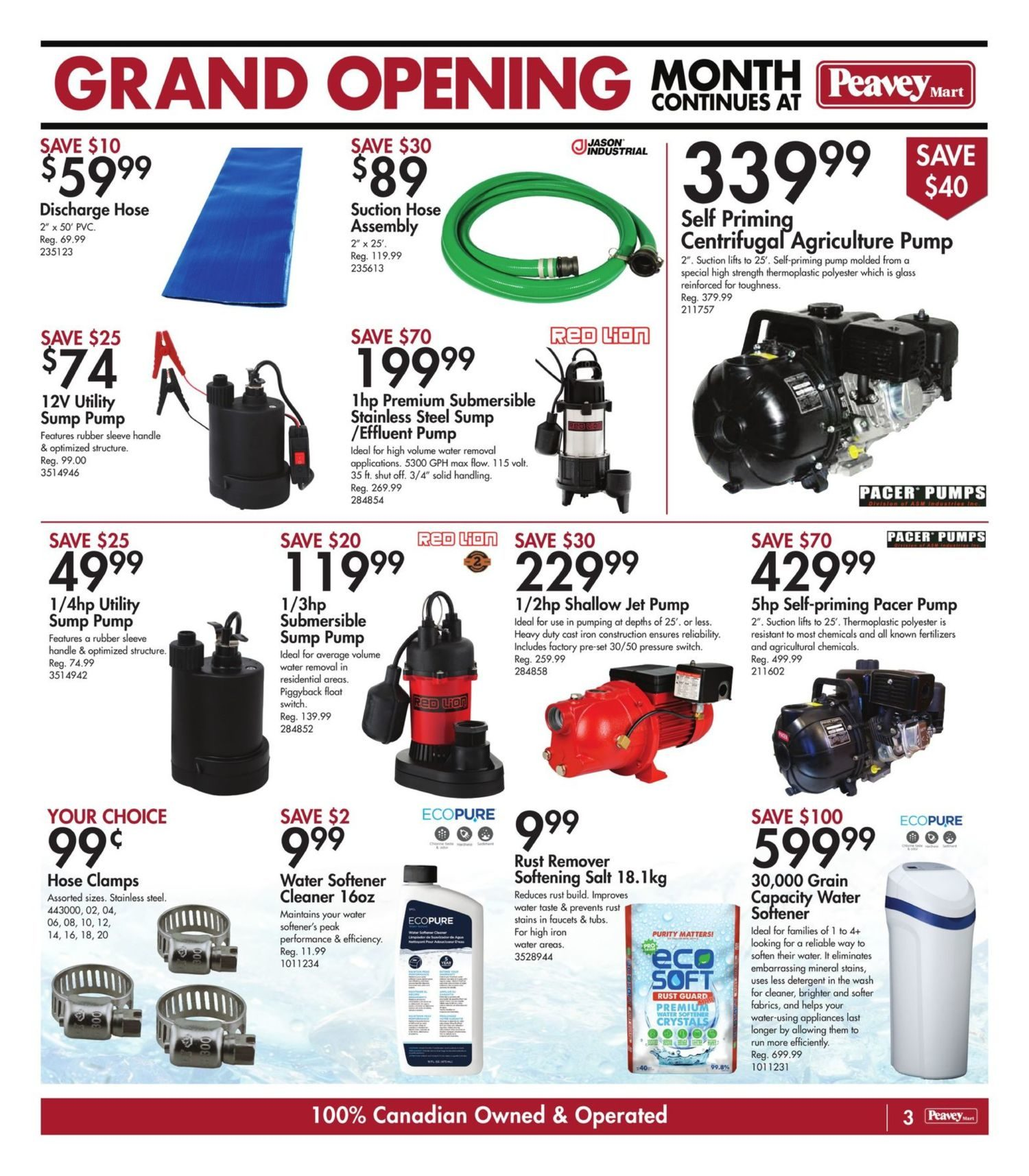 Peavey Mart - Weekly Flyer Specials - National Grand Opening Celebration - Page 5