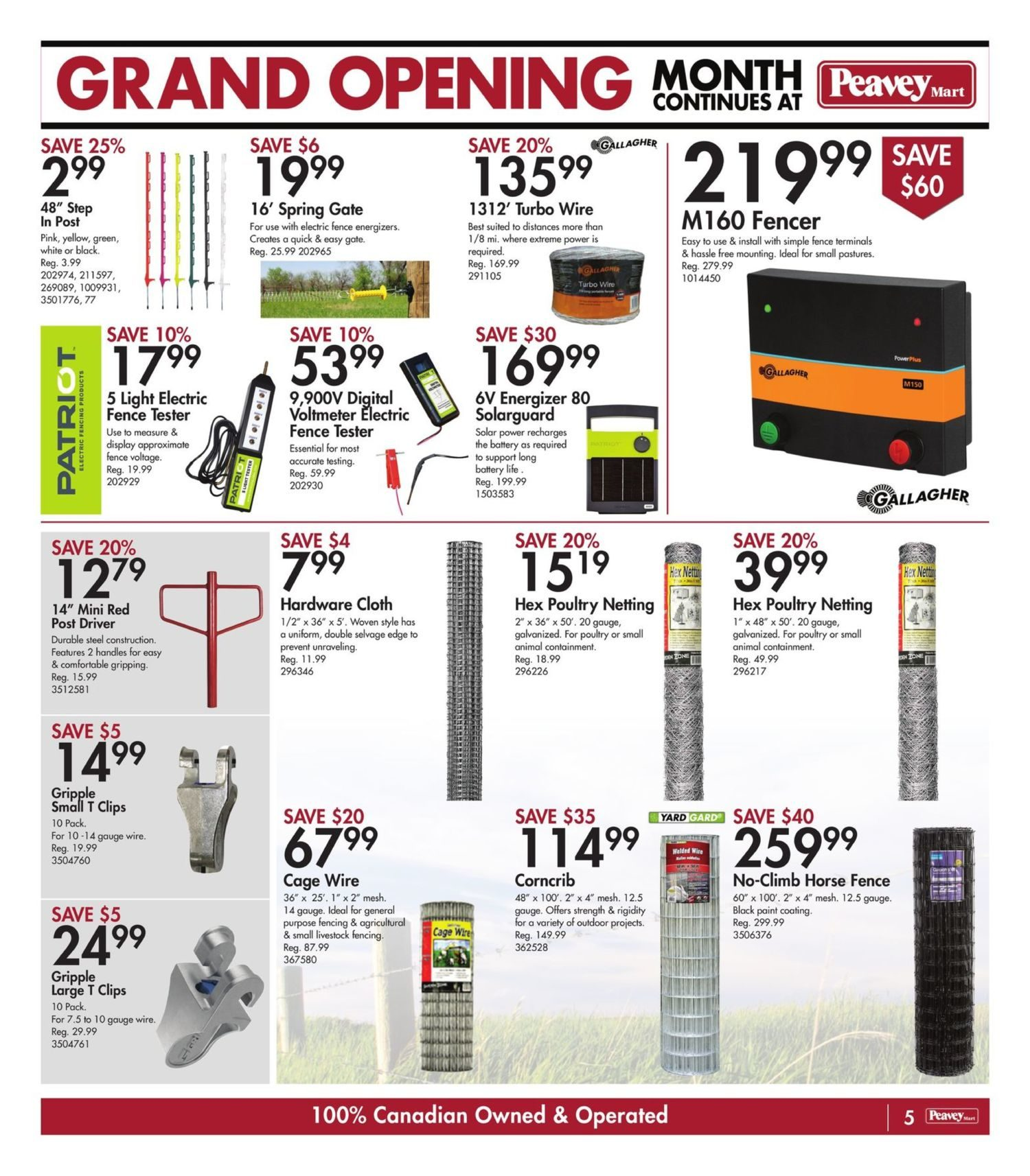 Peavey Mart - Weekly Flyer Specials - National Grand Opening Celebration - Page 8