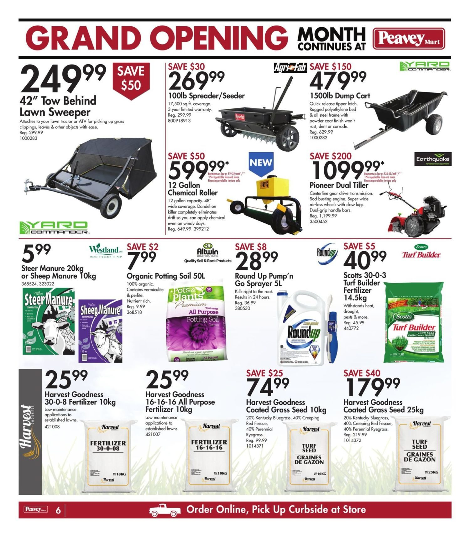 Peavey Mart - Weekly Flyer Specials - National Grand Opening Celebration - Page 9