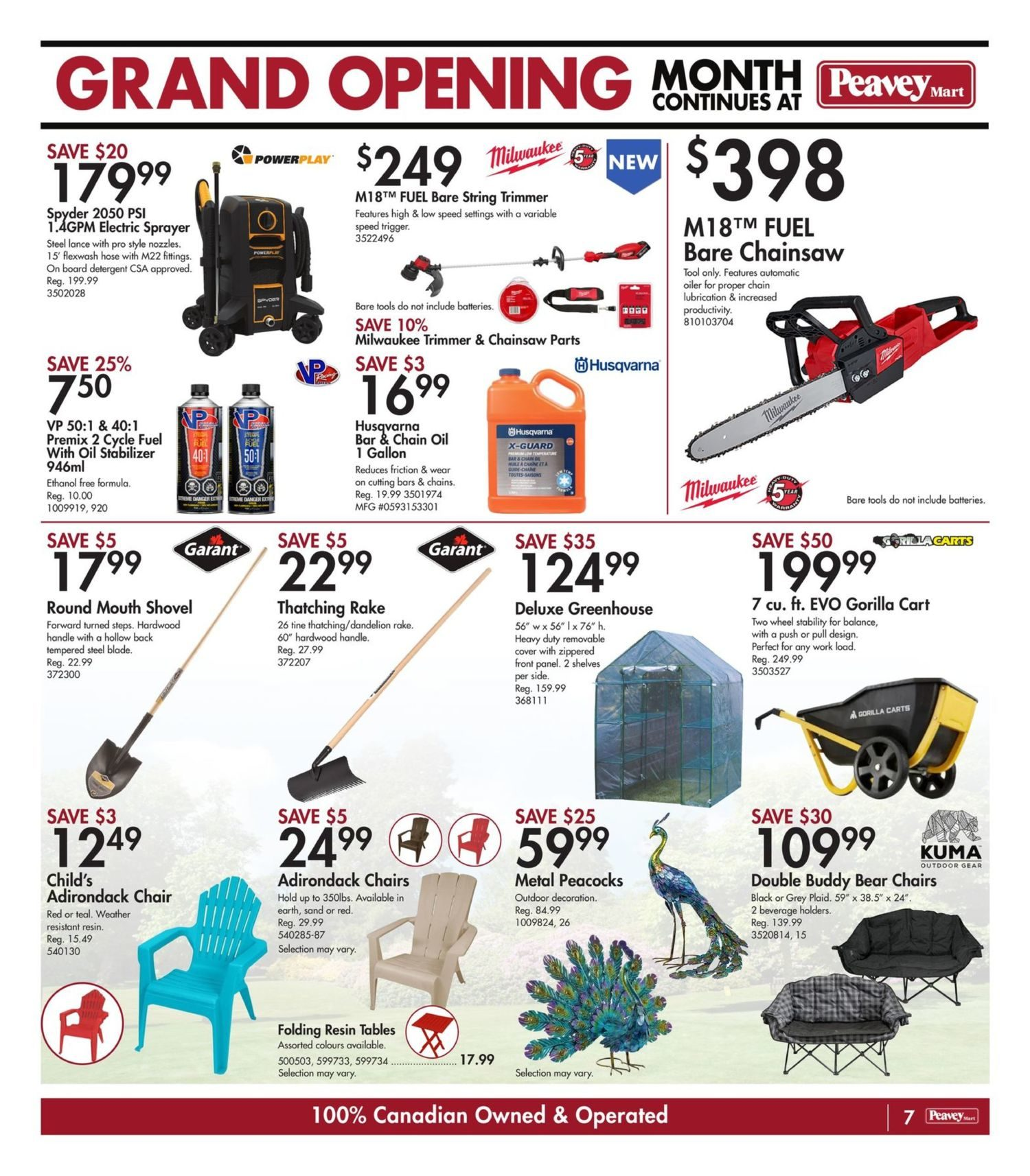 Peavey Mart - Weekly Flyer Specials - National Grand Opening Celebration - Page 10