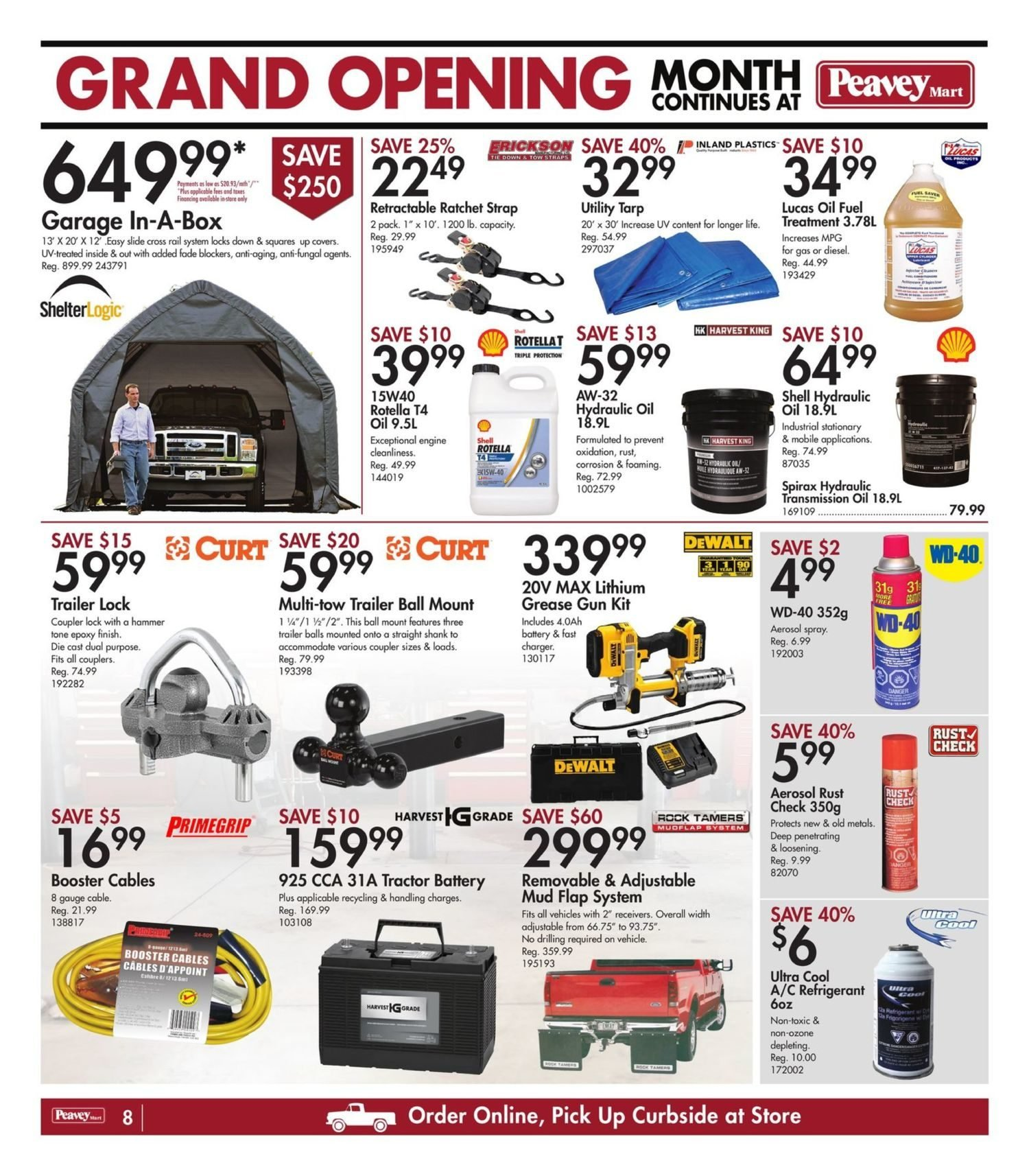 Peavey Mart - Weekly Flyer Specials - National Grand Opening Celebration - Page 11