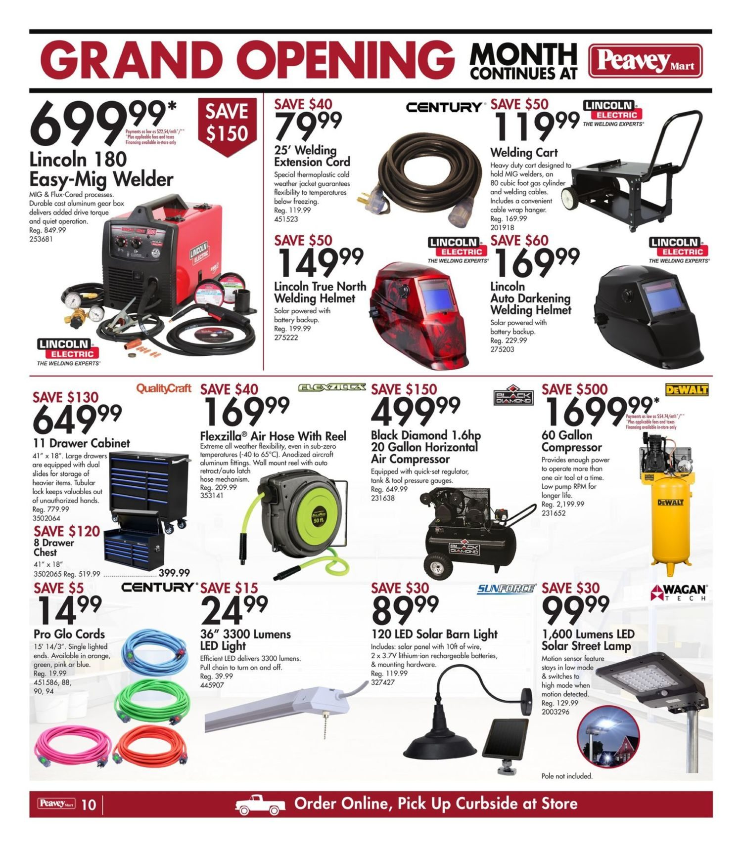 Peavey Mart - Weekly Flyer Specials - National Grand Opening Celebration - Page 13