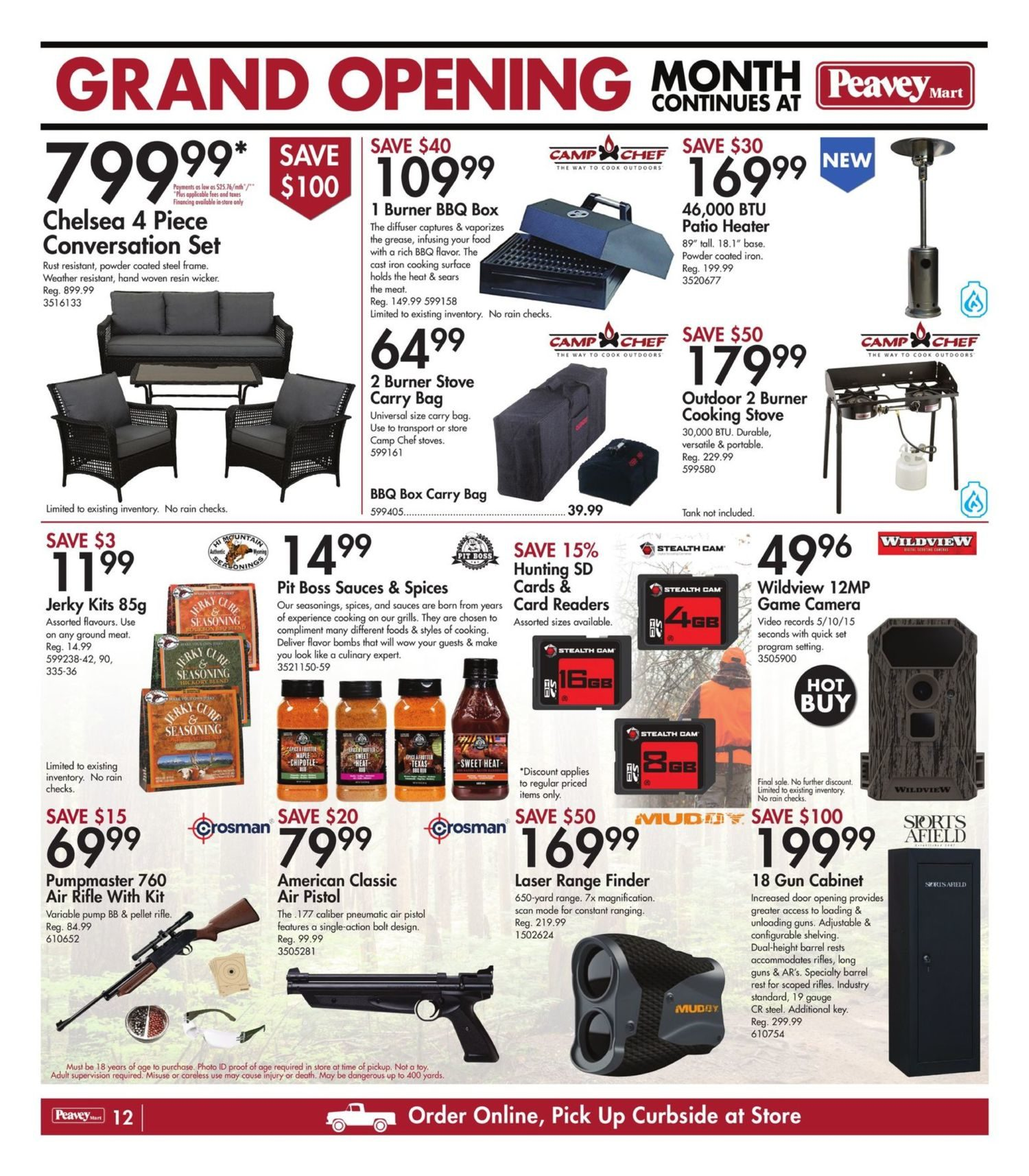 Peavey Mart - Weekly Flyer Specials - National Grand Opening Celebration - Page 15