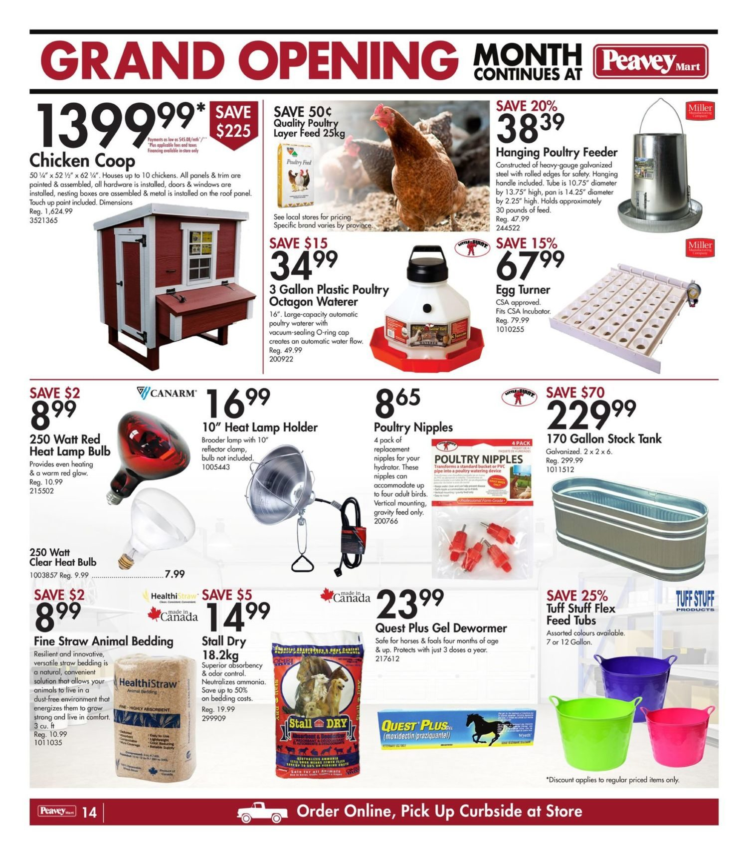 Peavey Mart - Weekly Flyer Specials - National Grand Opening Celebration - Page 17