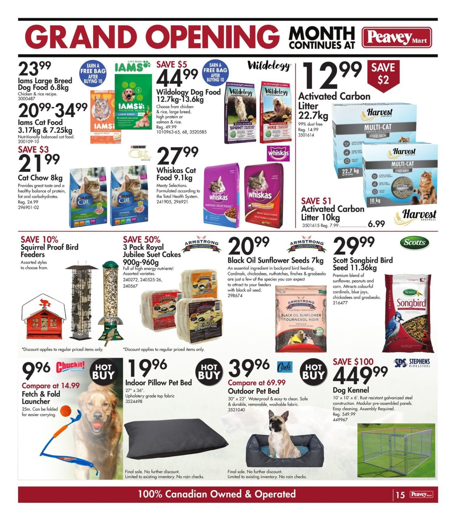 Peavey Mart - Weekly Flyer Specials - National Grand Opening Celebration - Page 18