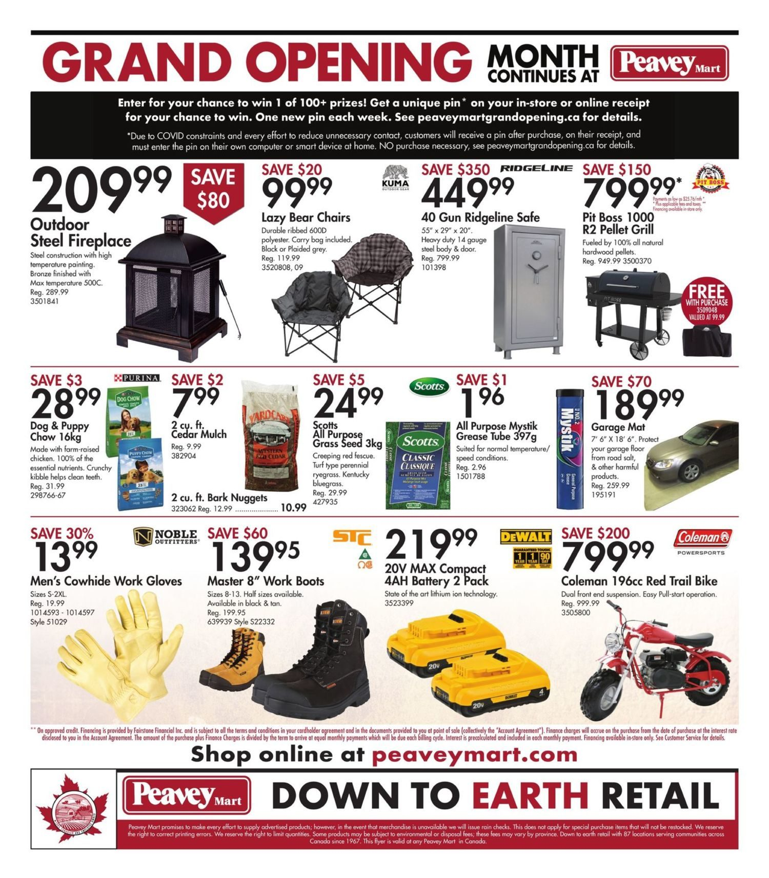 Peavey Mart - Weekly Flyer Specials - National Grand Opening Celebration - Page 19