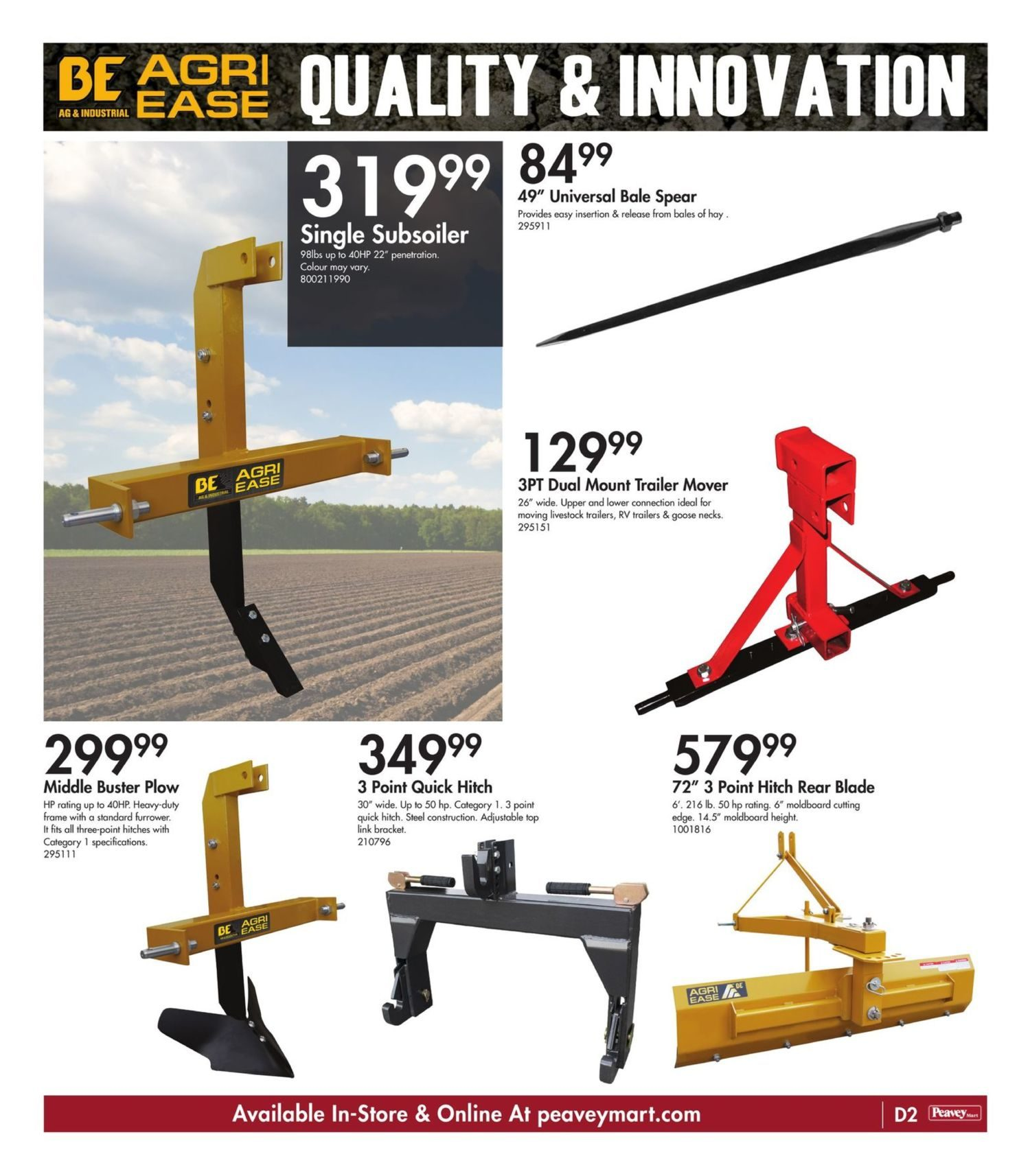 Peavey Mart - Weekly Flyer Specials - National Grand Opening Celebration - Page 21