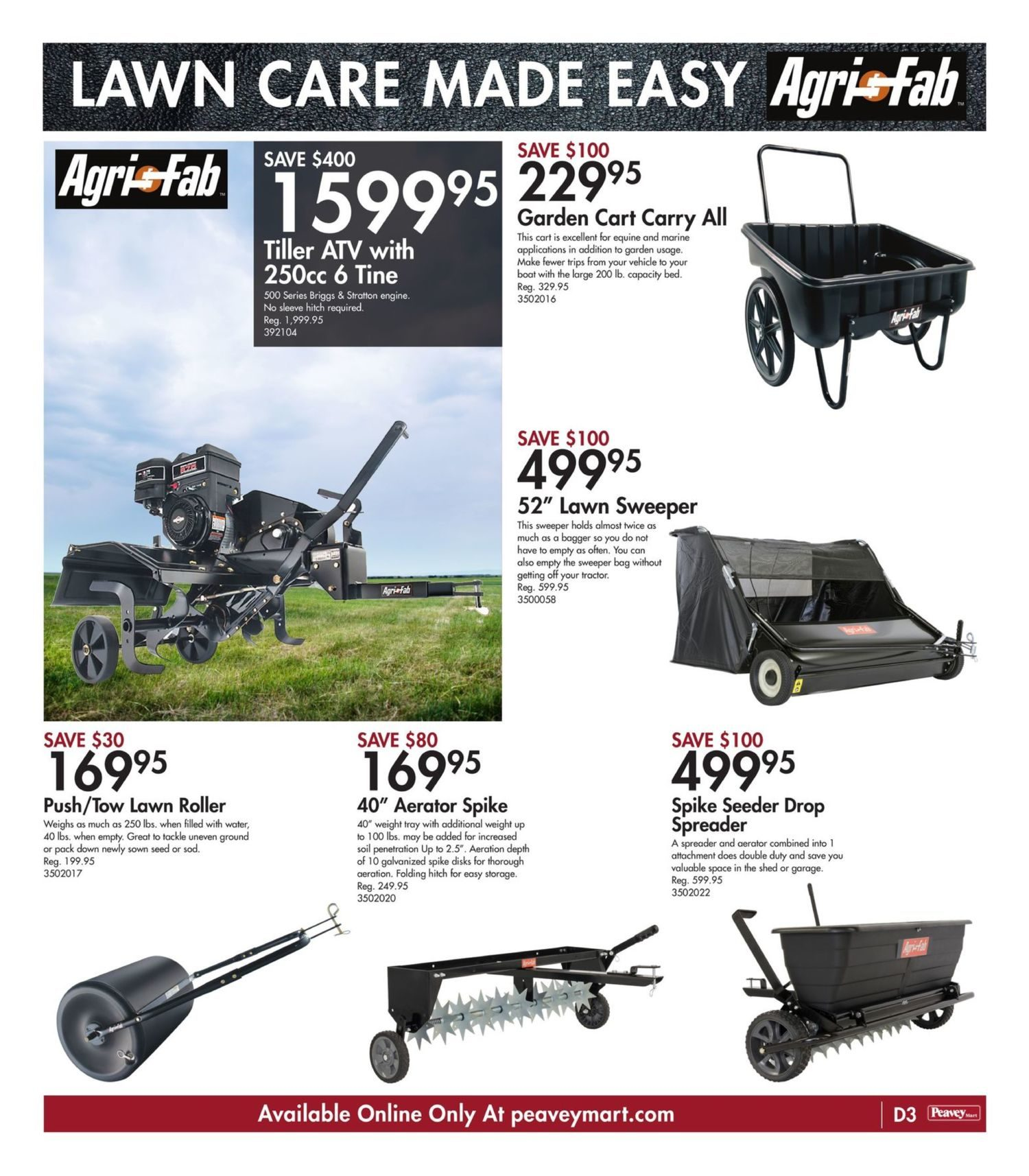 Peavey Mart - Weekly Flyer Specials - National Grand Opening Celebration - Page 22