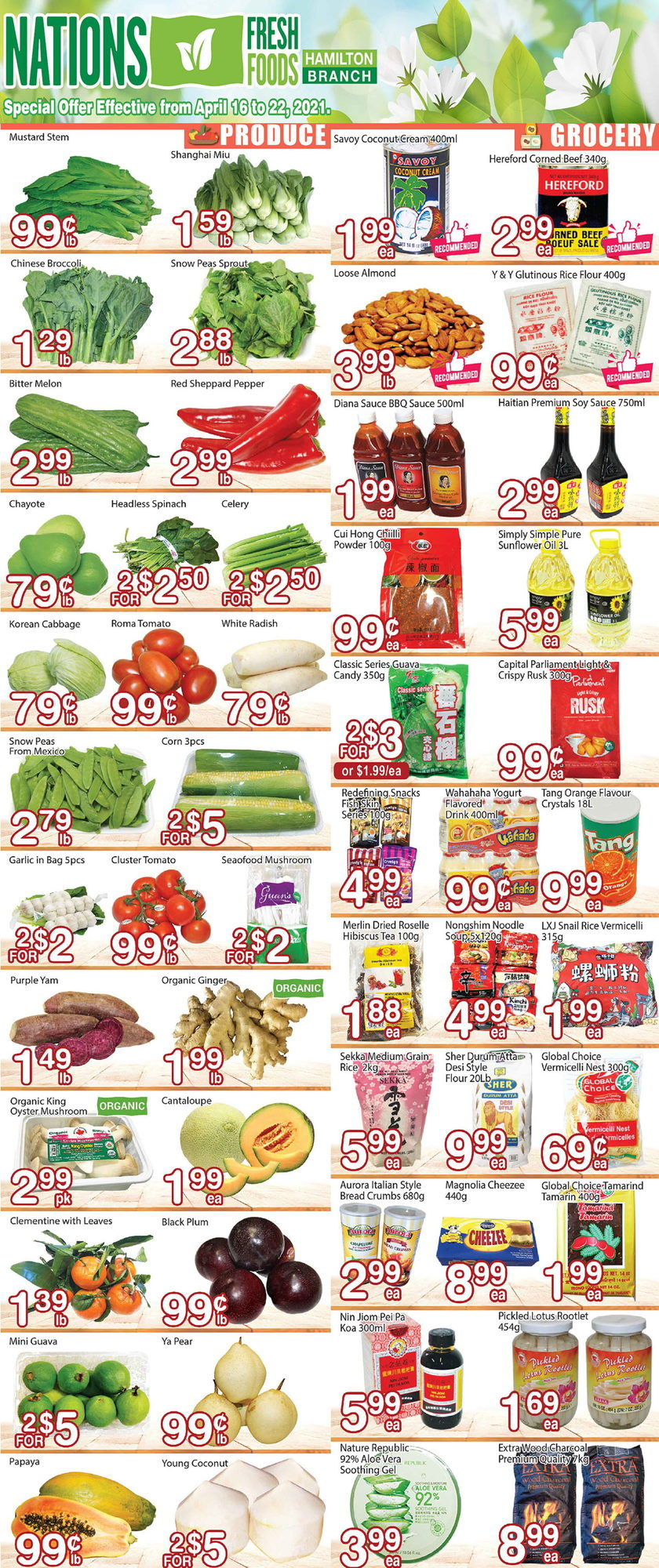 Nations Fresh Foods - Weekly Flyer Specials