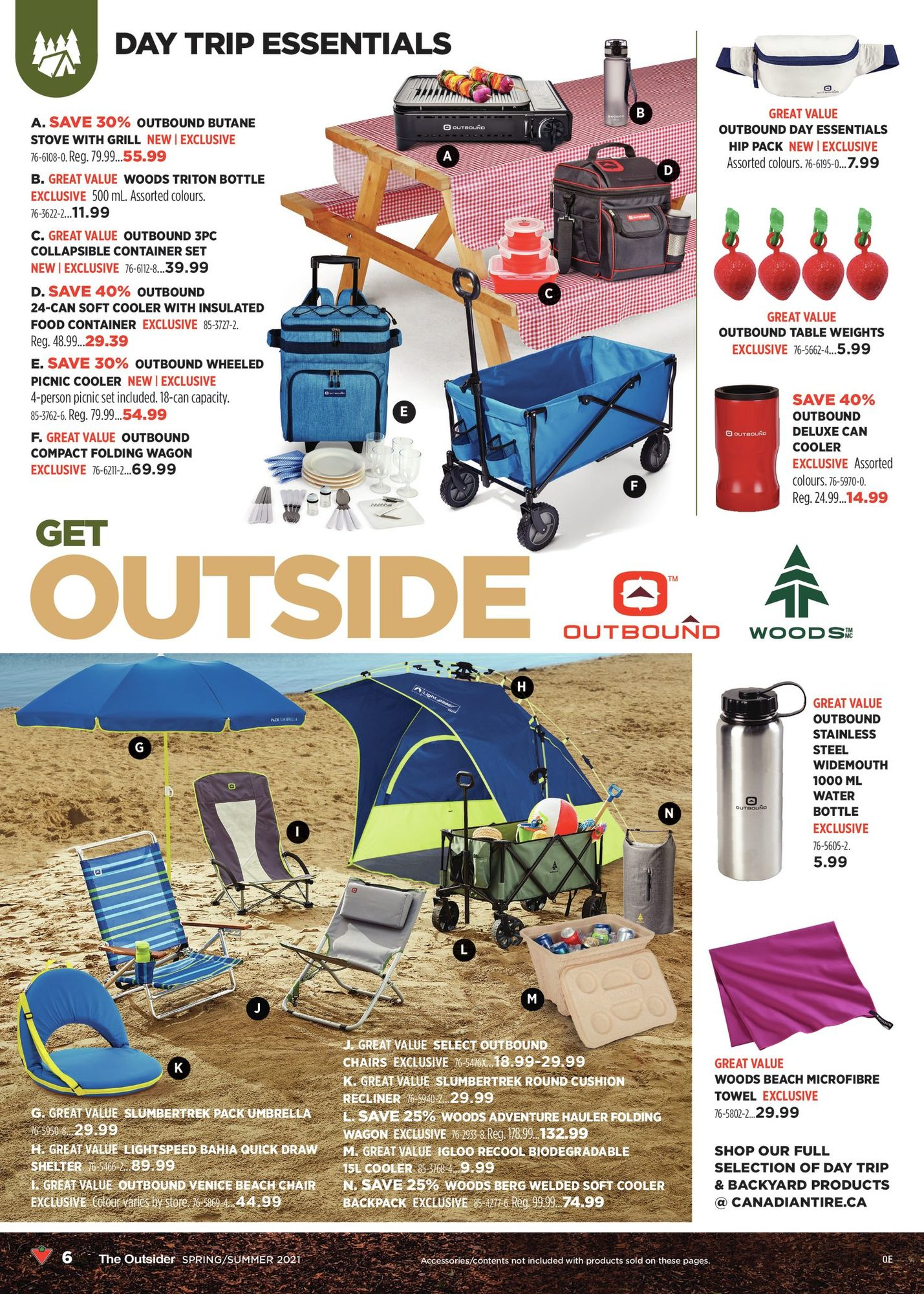 Canadian Tire - The Outsider - Spring/Summer 2021 - Page 6