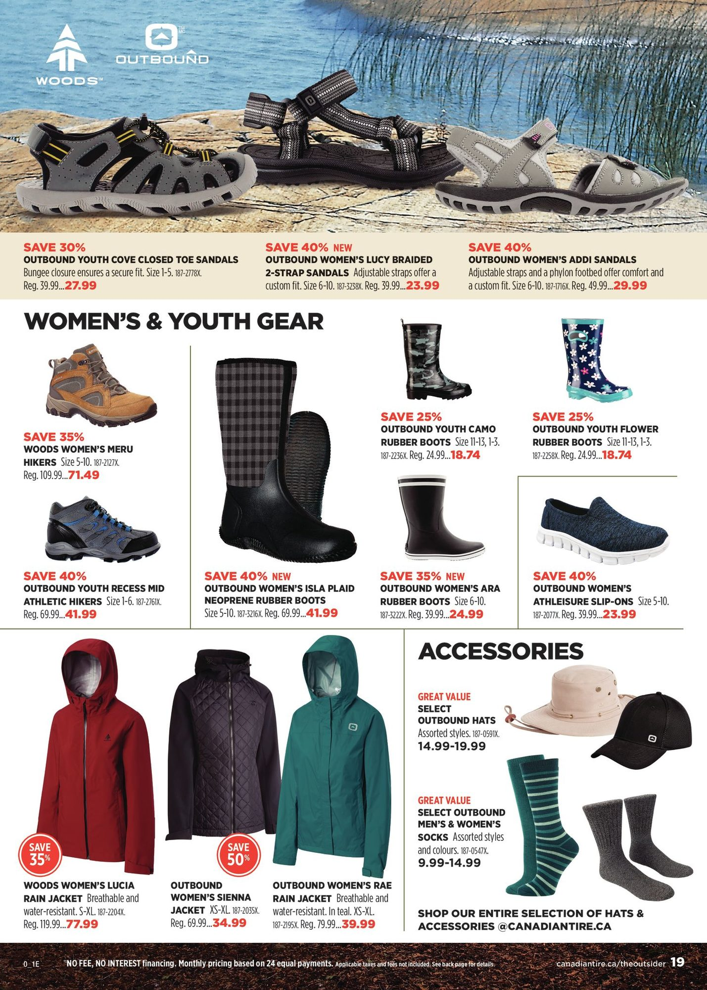 Canadian Tire - The Outsider - Spring/Summer 2021 - Page 19