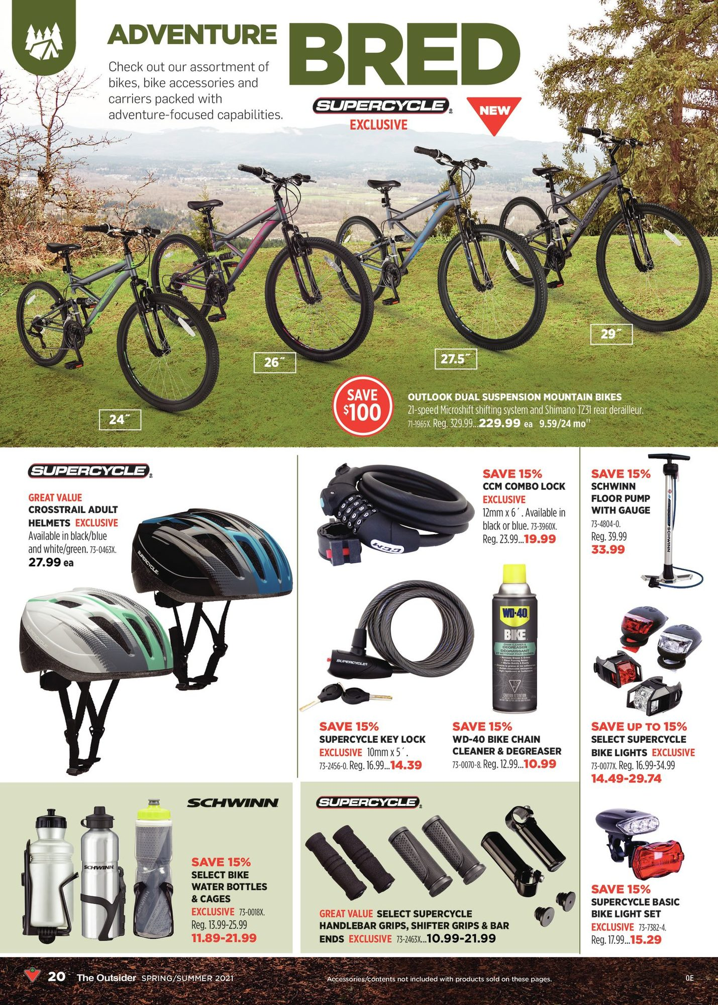 Canadian Tire - The Outsider - Spring/Summer 2021 - Page 20