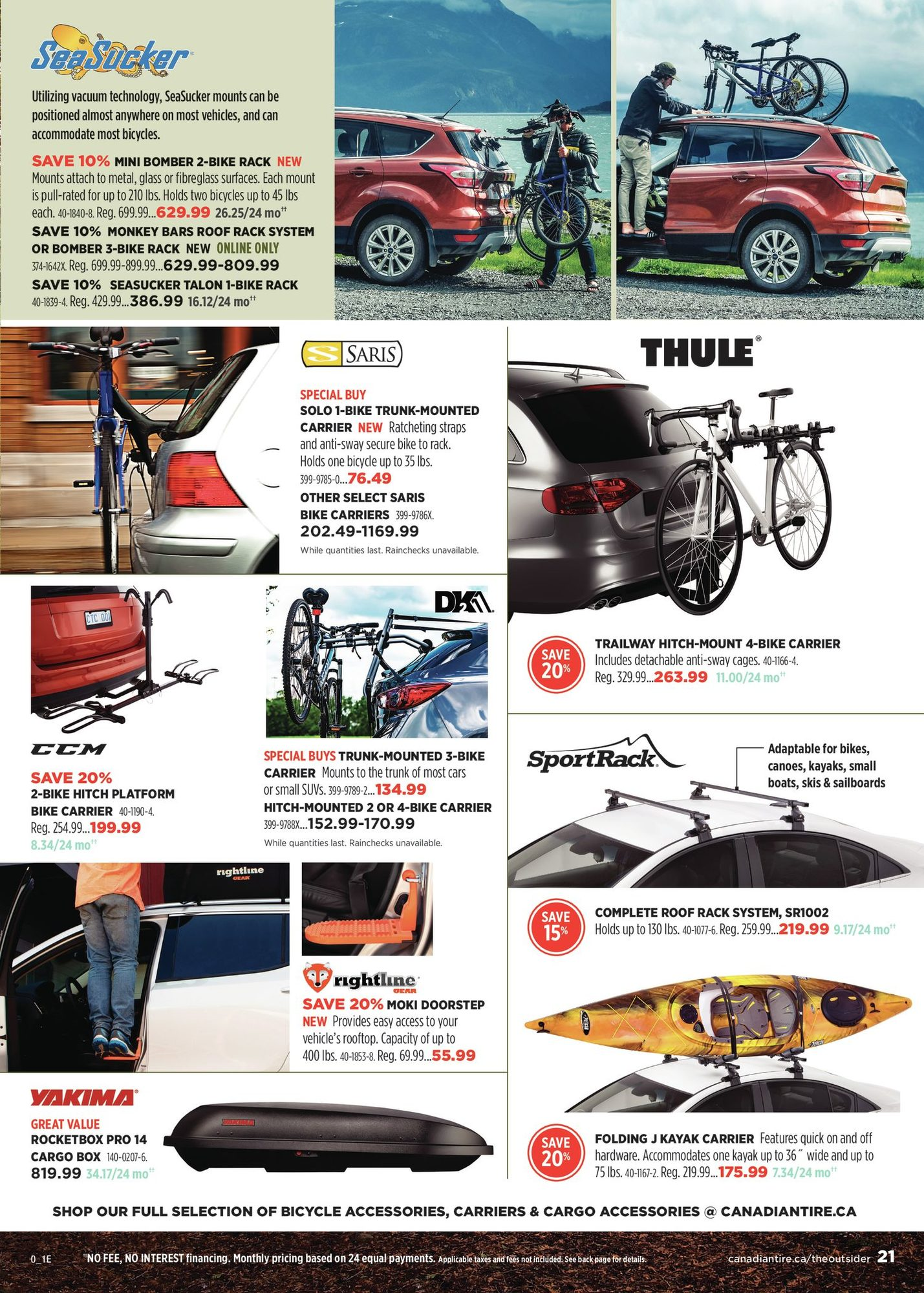 Canadian Tire - The Outsider - Spring/Summer 2021 - Page 21