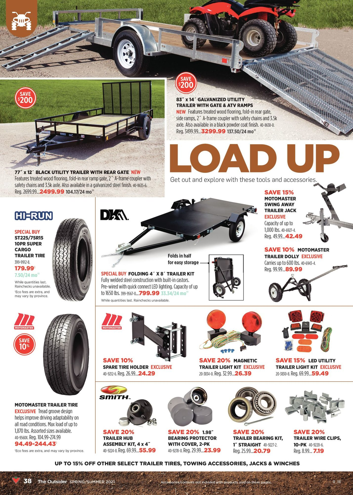 Canadian Tire - The Outsider - Spring/Summer 2021 - Page 38