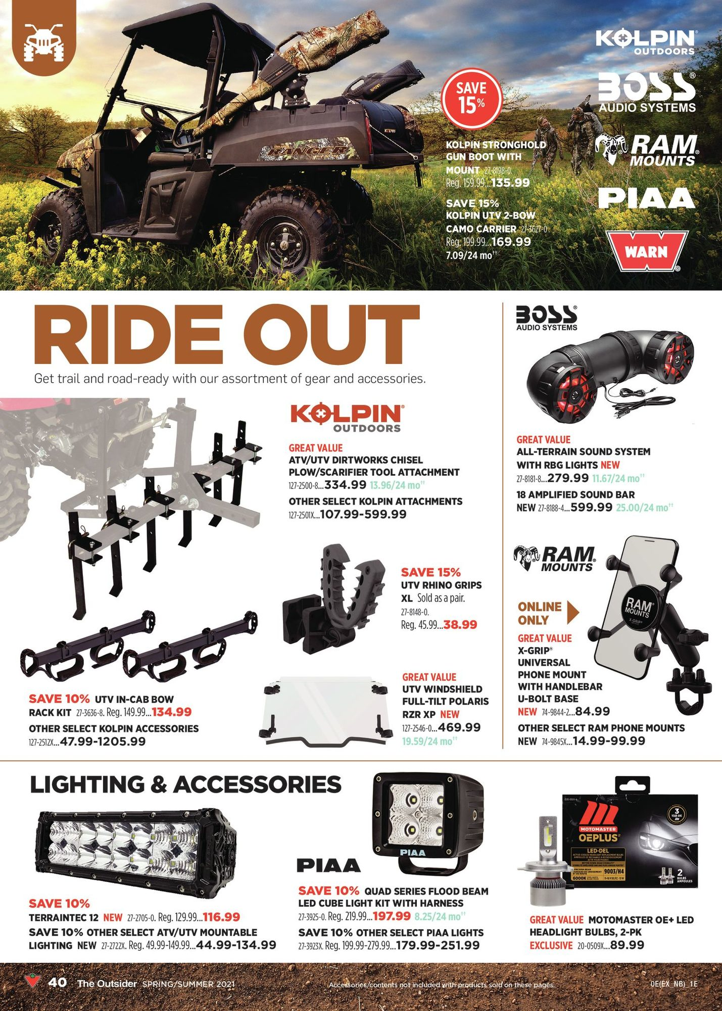 Canadian Tire - The Outsider - Spring/Summer 2021 - Page 40