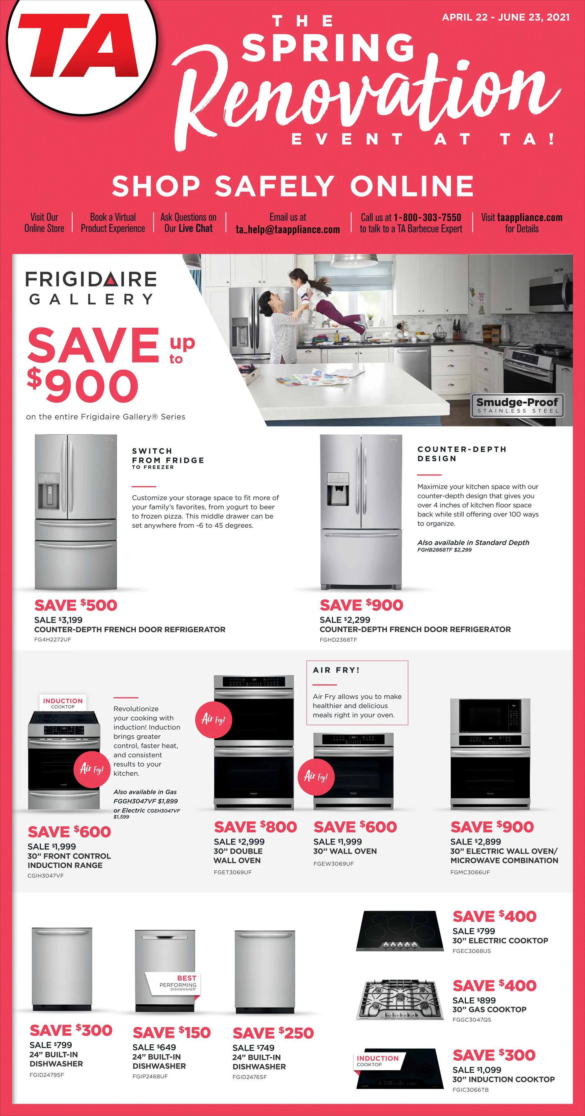 TA Appliance - The Spring Renovation