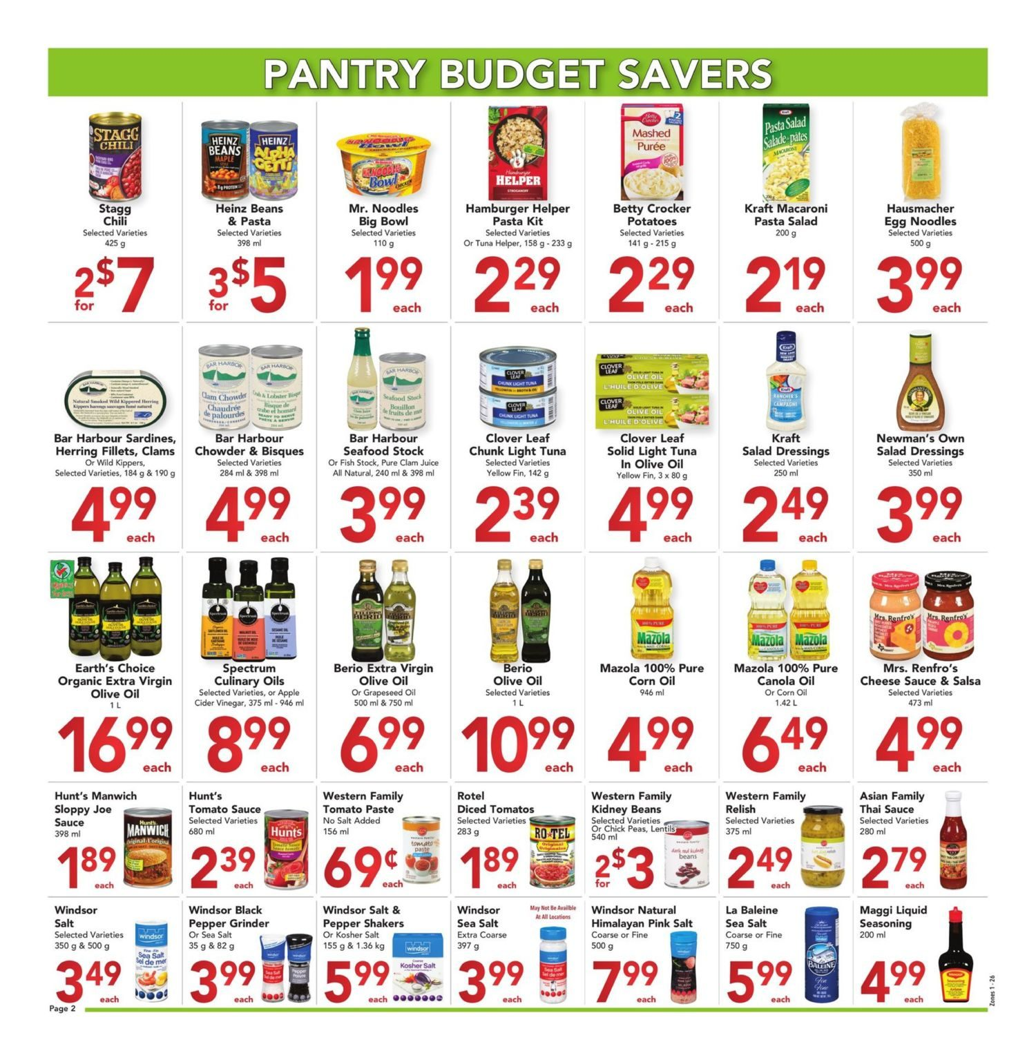 Buy-Low Foods - Budget Savers - Page 2
