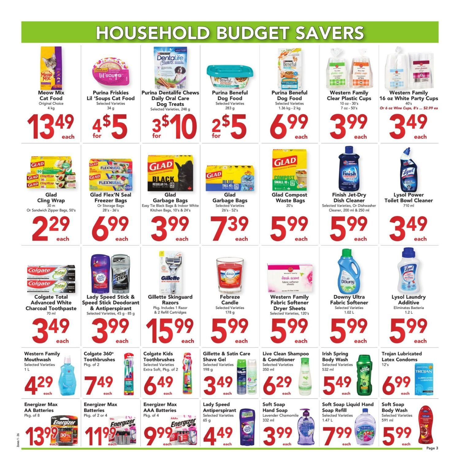 Buy-Low Foods - Budget Savers - Page 3